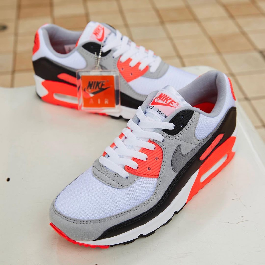 Nike Air Max 90 Infrared Release Date CT1685-100 Front