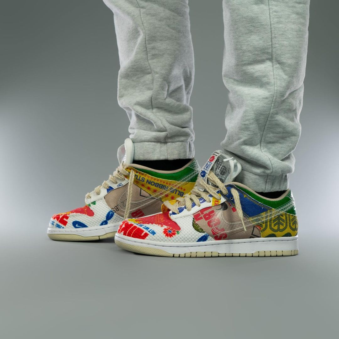 Nike Dunk Low Thank You For Caring Release Date DA6125-900 Medial