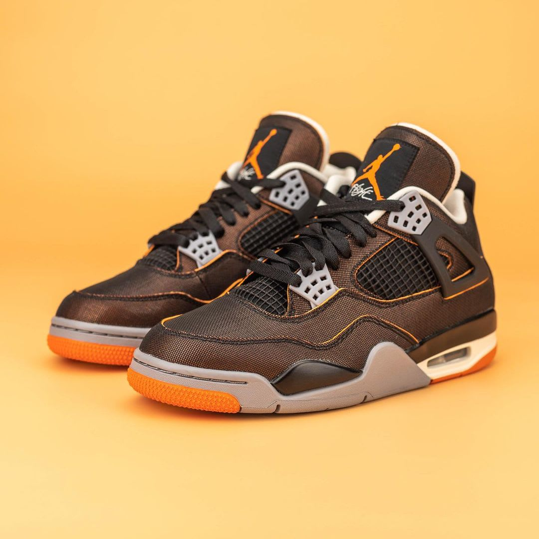 Air Jordan 4 IV Starfish Release Date CW7183-100 Pair