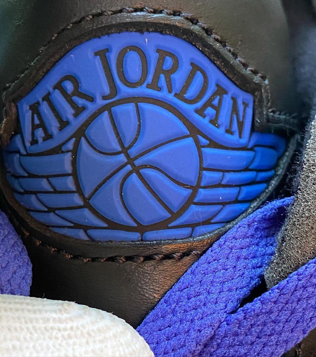 Off-White x Air Jordan 2 Low Black Tongue