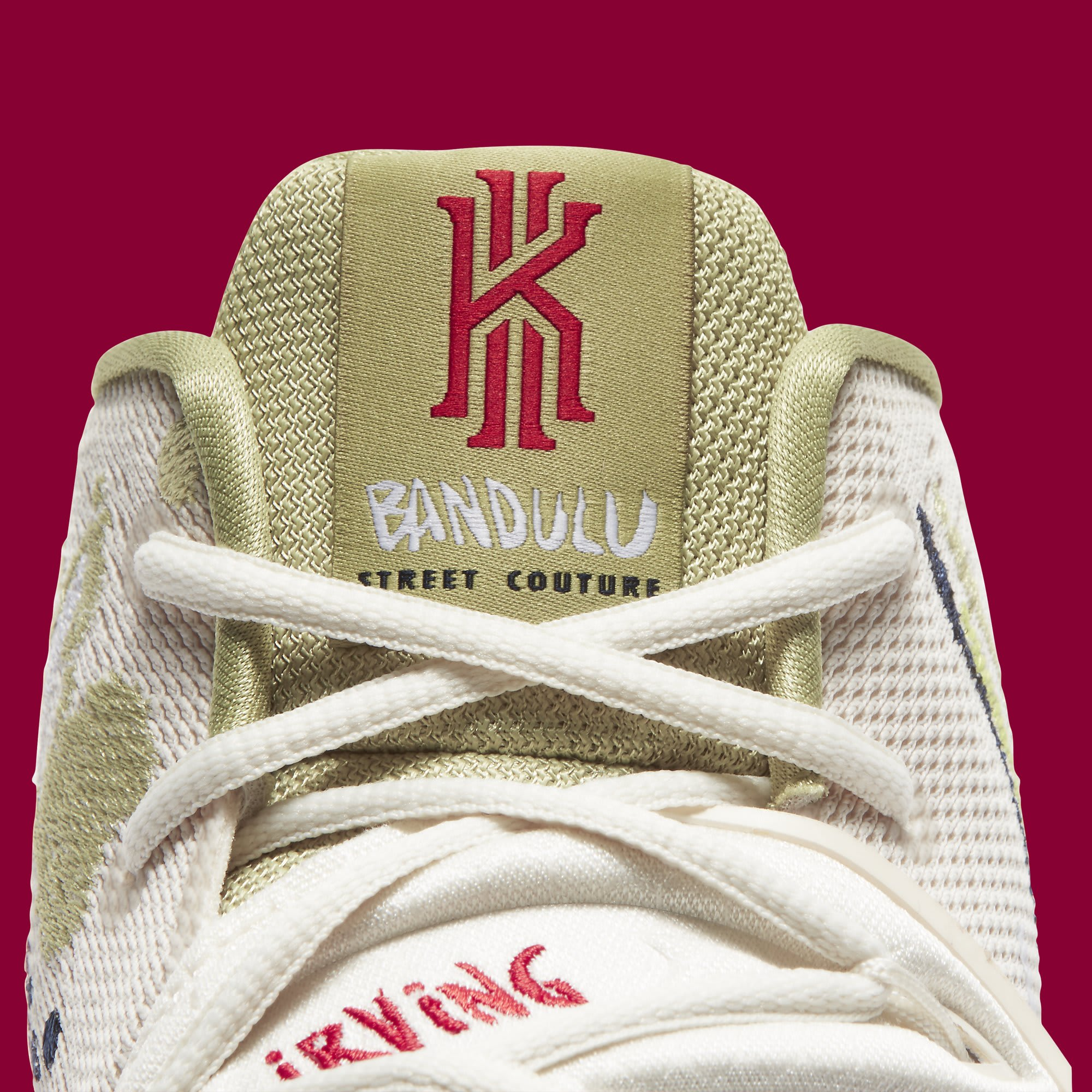 Bandulu x Nike Kyrie 5 CK5836-100 Tongue