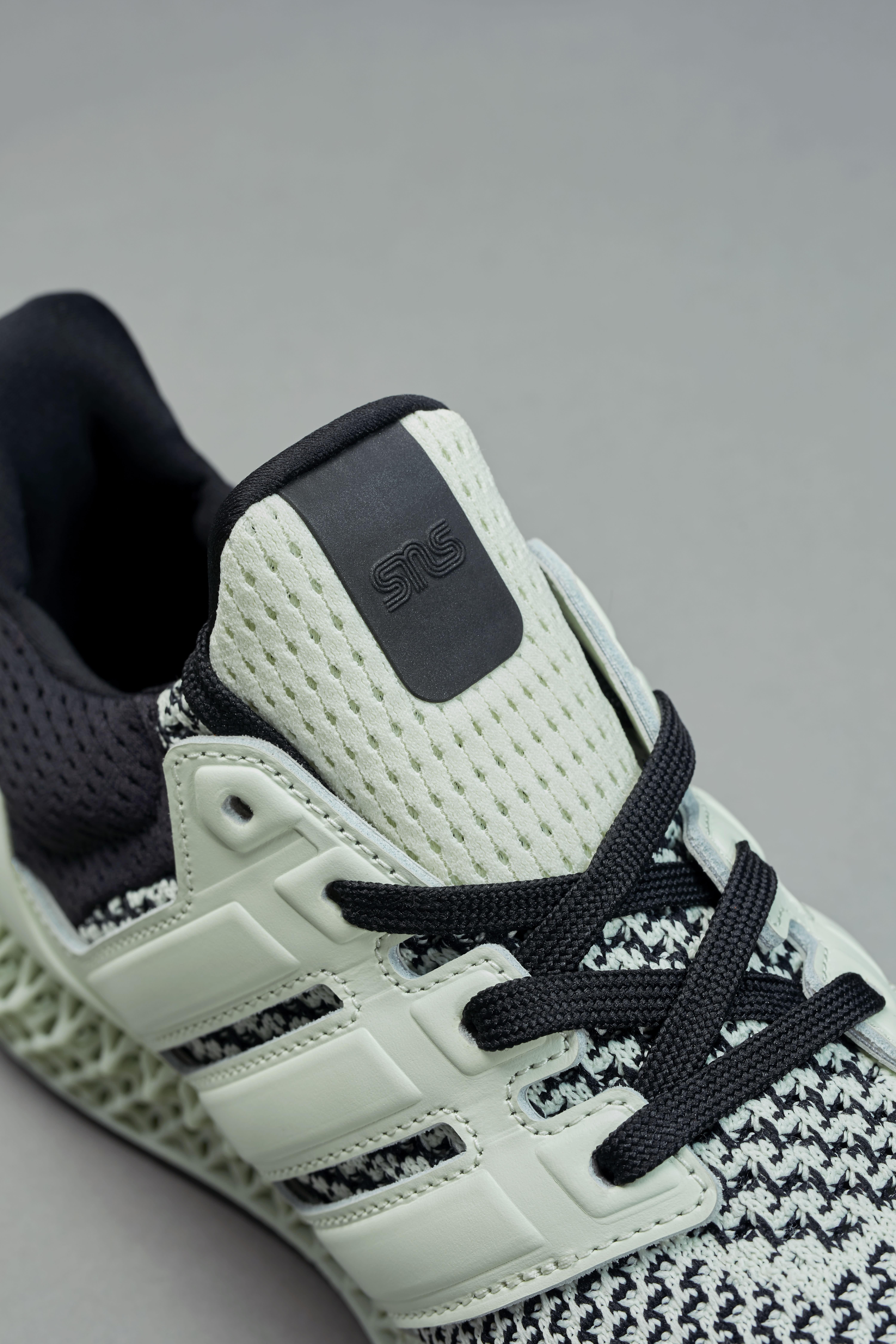 Sneakersnstuff x Adidas Ultra 4D 'Green Teatime' Tongue