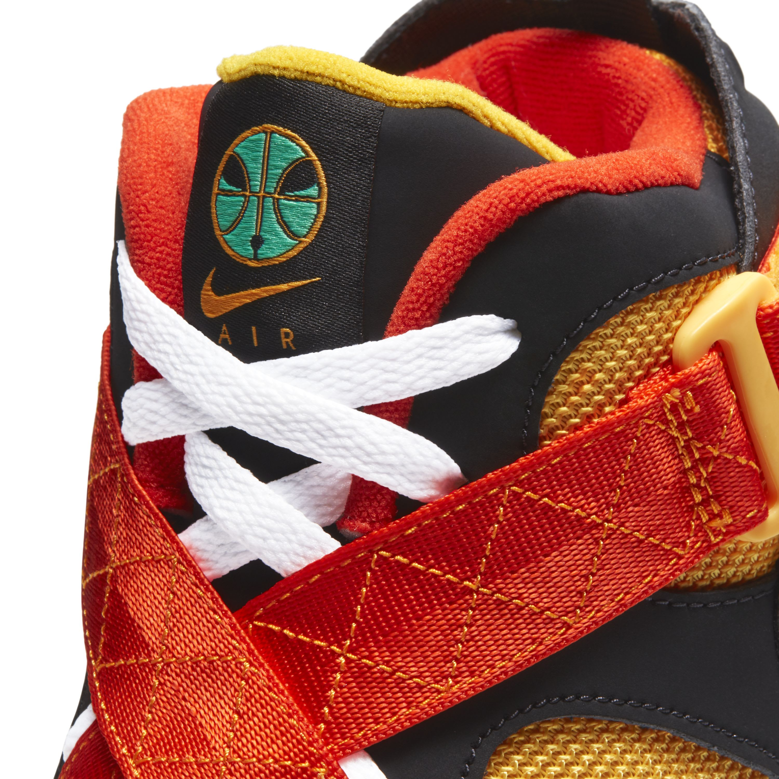 Nike Air Raid Rayguns Release Date Tongue Detail
