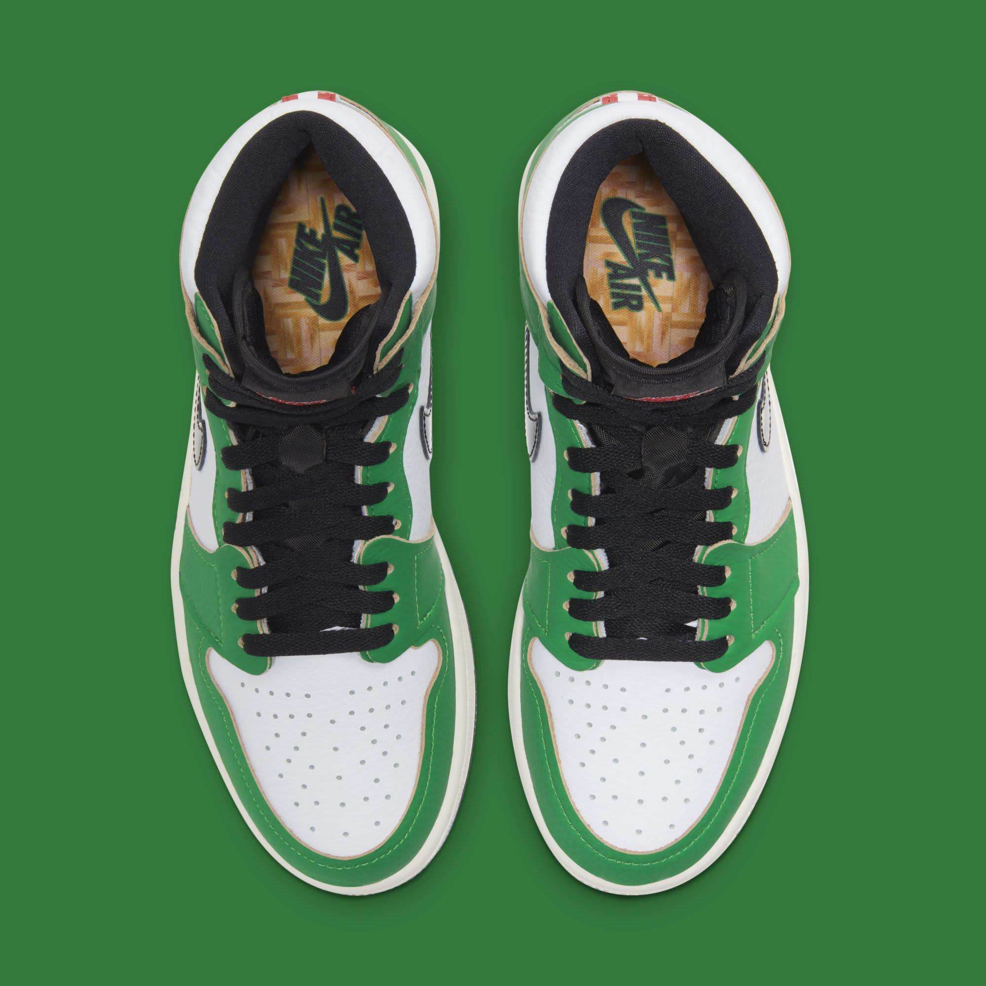 Air Jordan 1 Retro High OG Women's 'Lucky Green' DB4612-300 Top