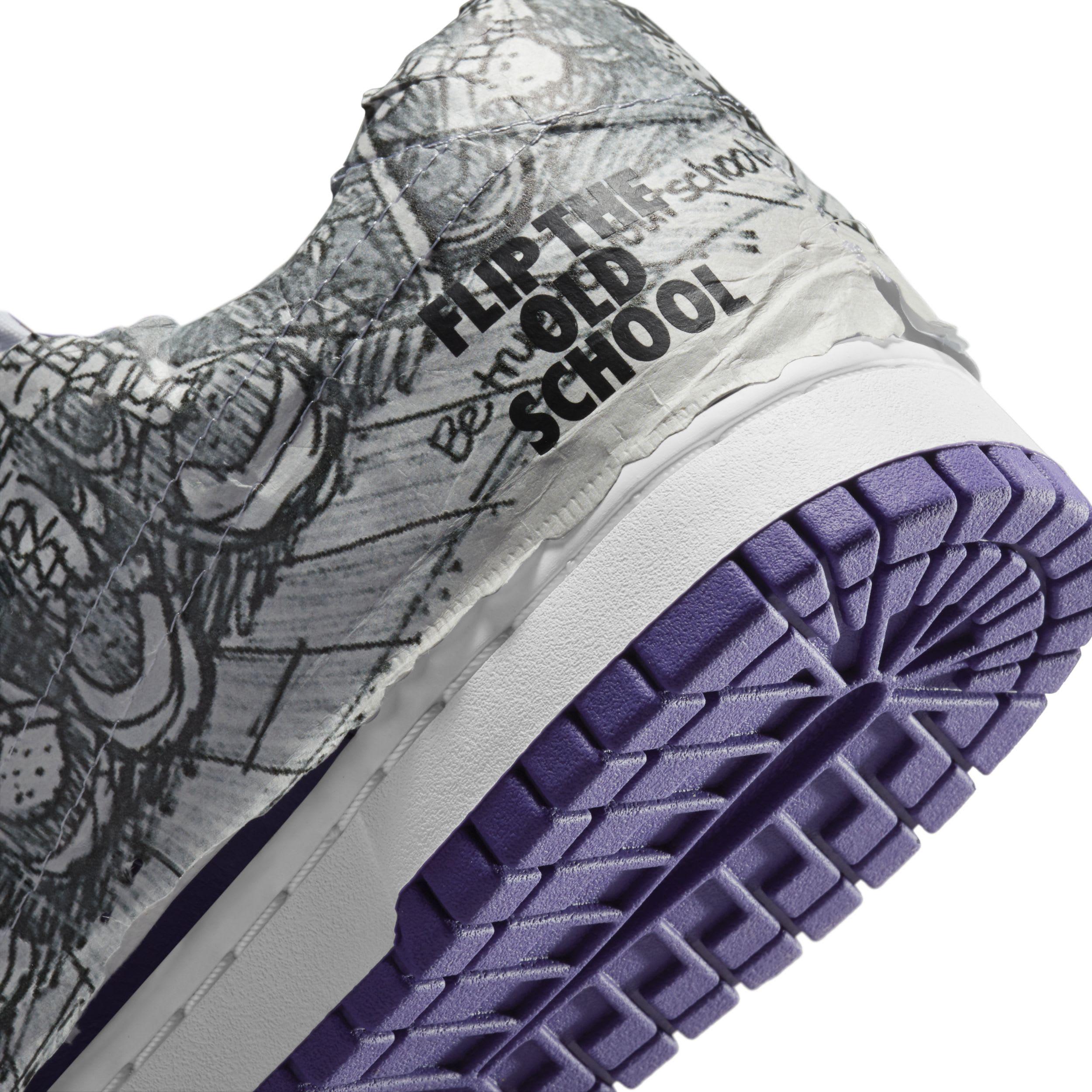 Nike Dunk Low 'Flip the Old School' Heel