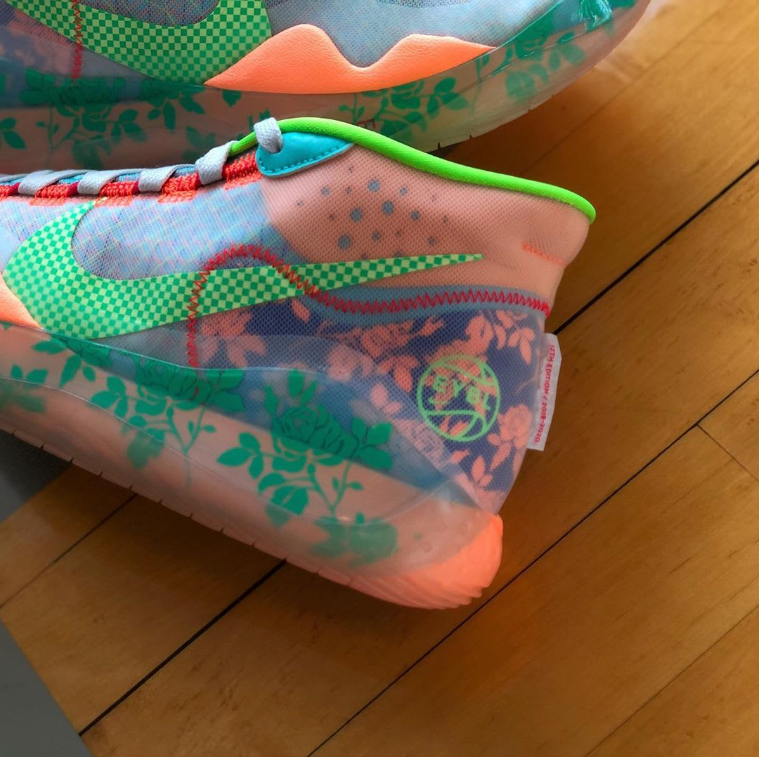Nike KD 12 EYBL Release Date Heel