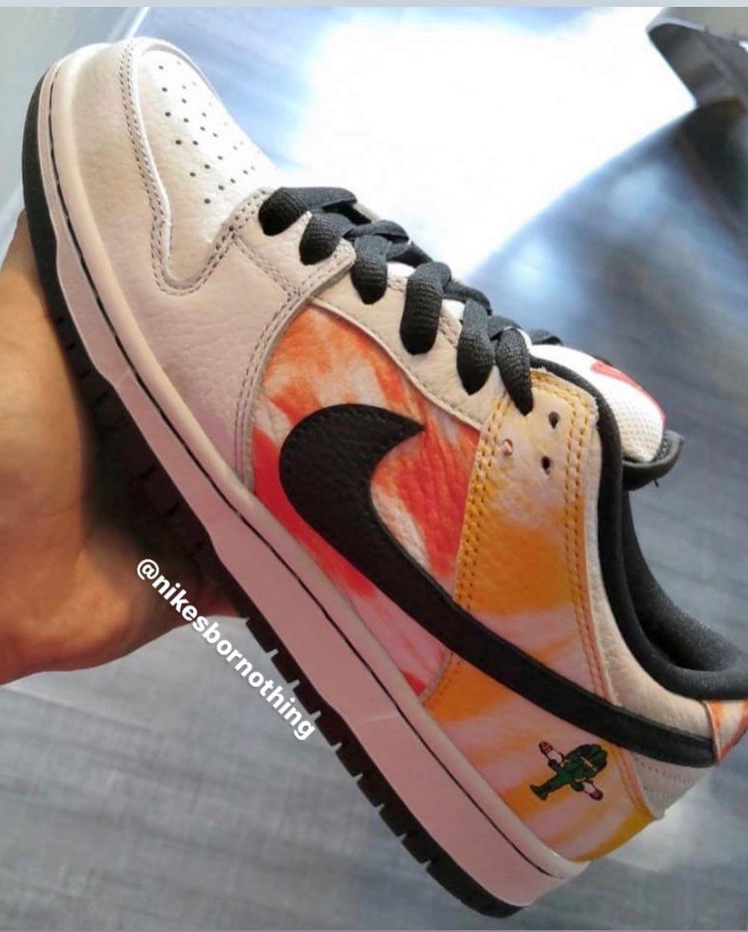 Nike SB Dunk Low 'Raygun Tie Dye' BQ6832-001 (White)
