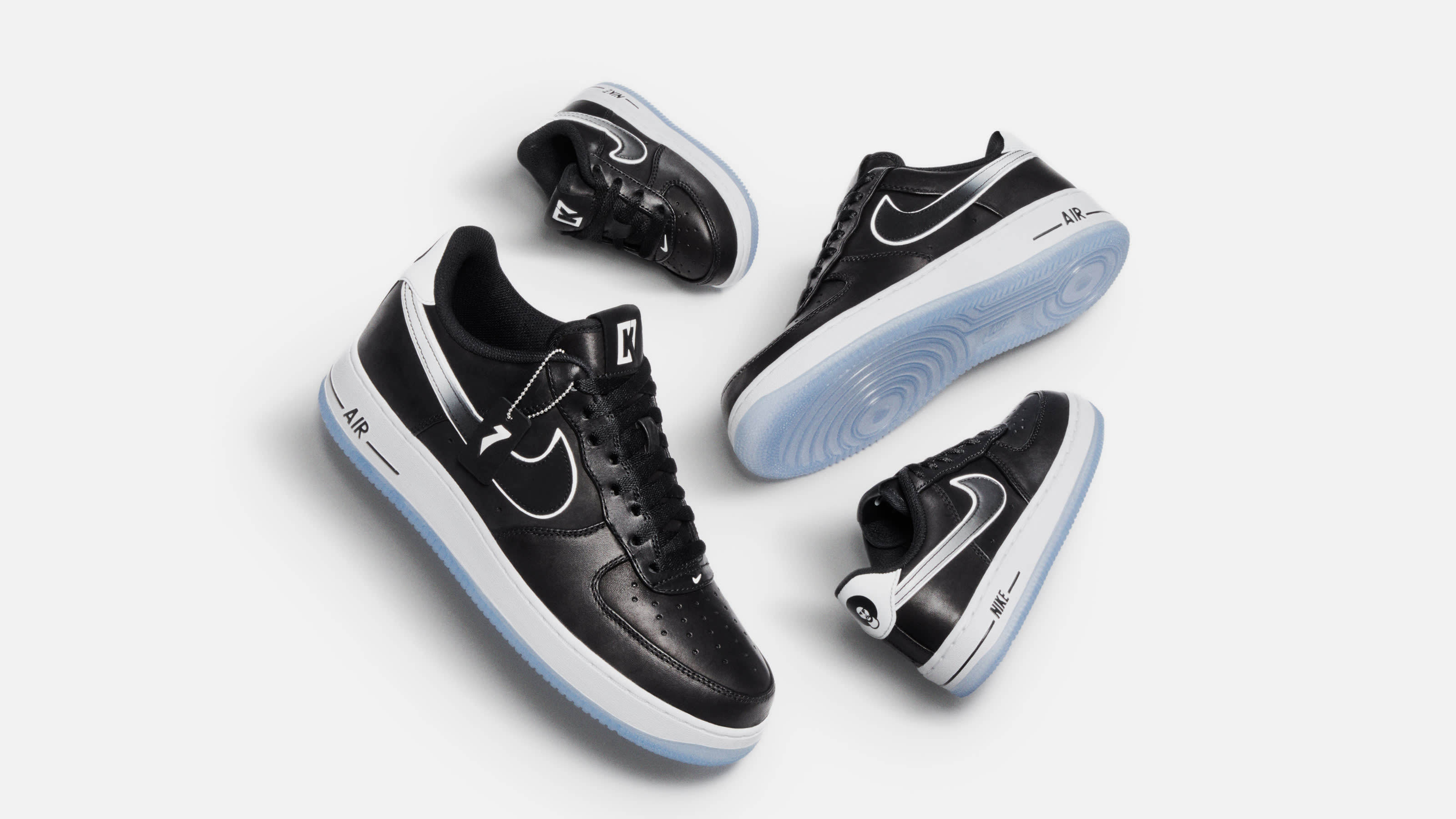 Colin Kaepernick x Nike Air Force 1 Low Release Date CQ0493-001 Family