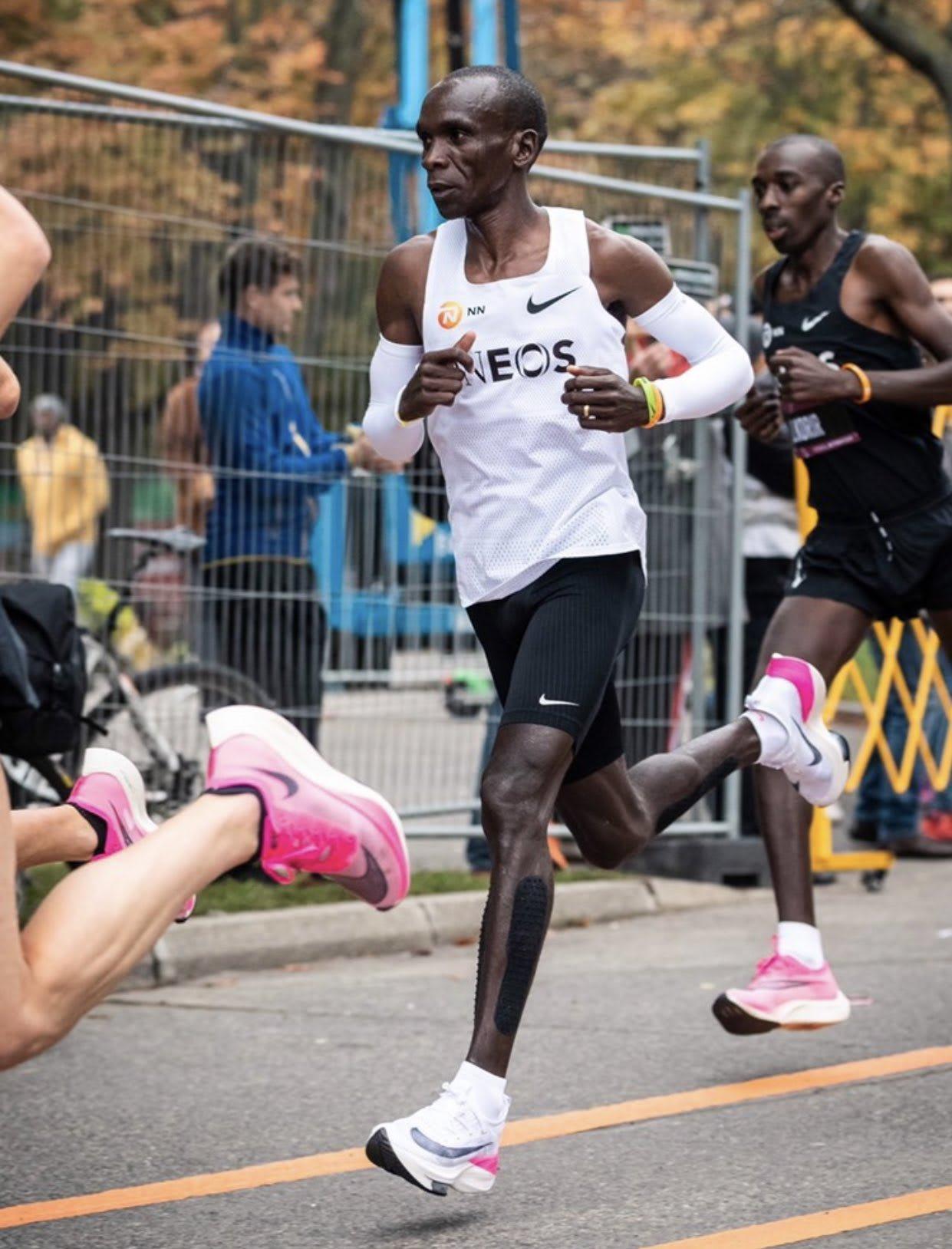 Eliud Kipchoge Runs Sub 2-Hour Marathon in Nike Next%