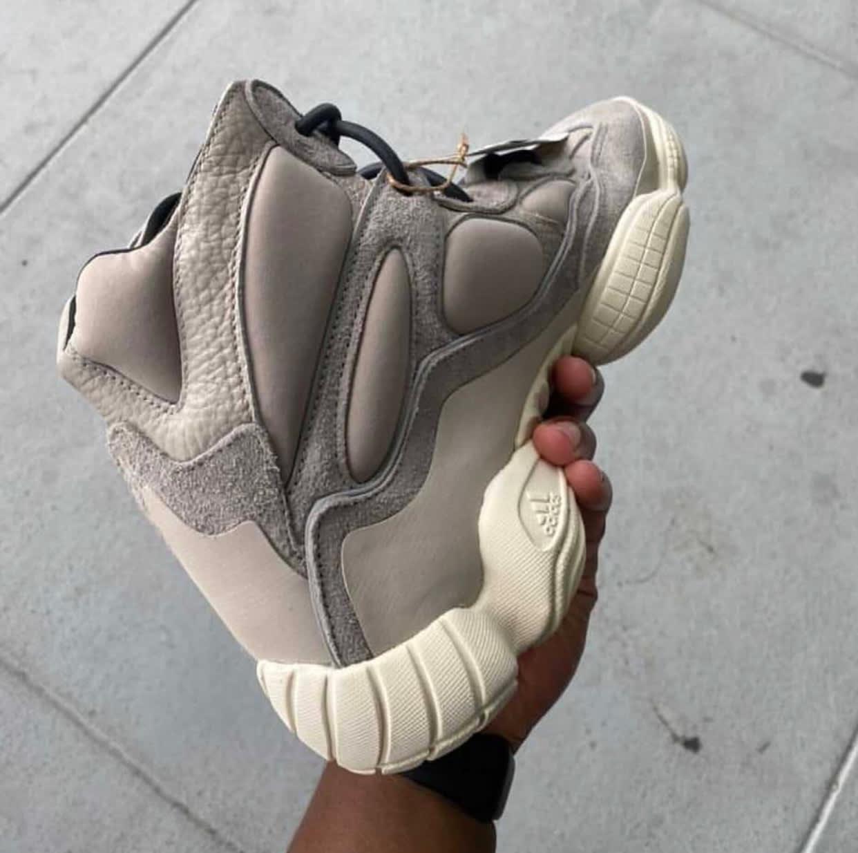 Adidas Yeezy 500 High Mist Stone Medial