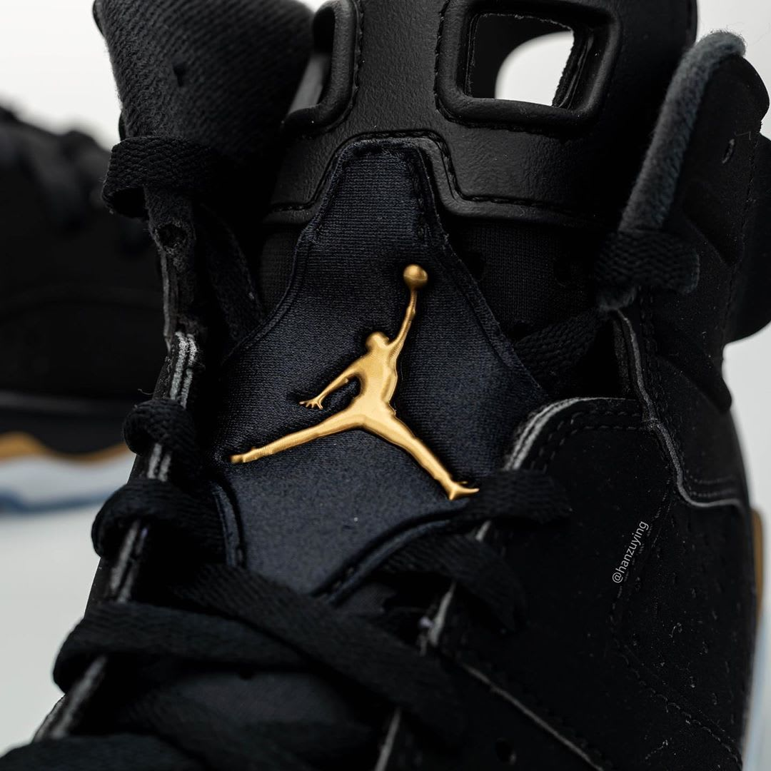 Air Jordan 6 DMP Release Date CT4594-007 Tongue