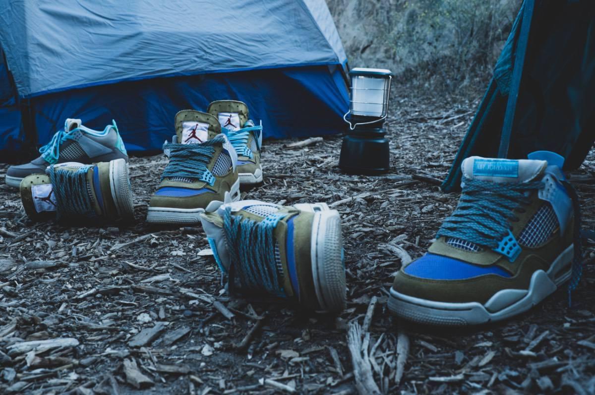 Union x Air Jordan 4 'Tent and Trail'