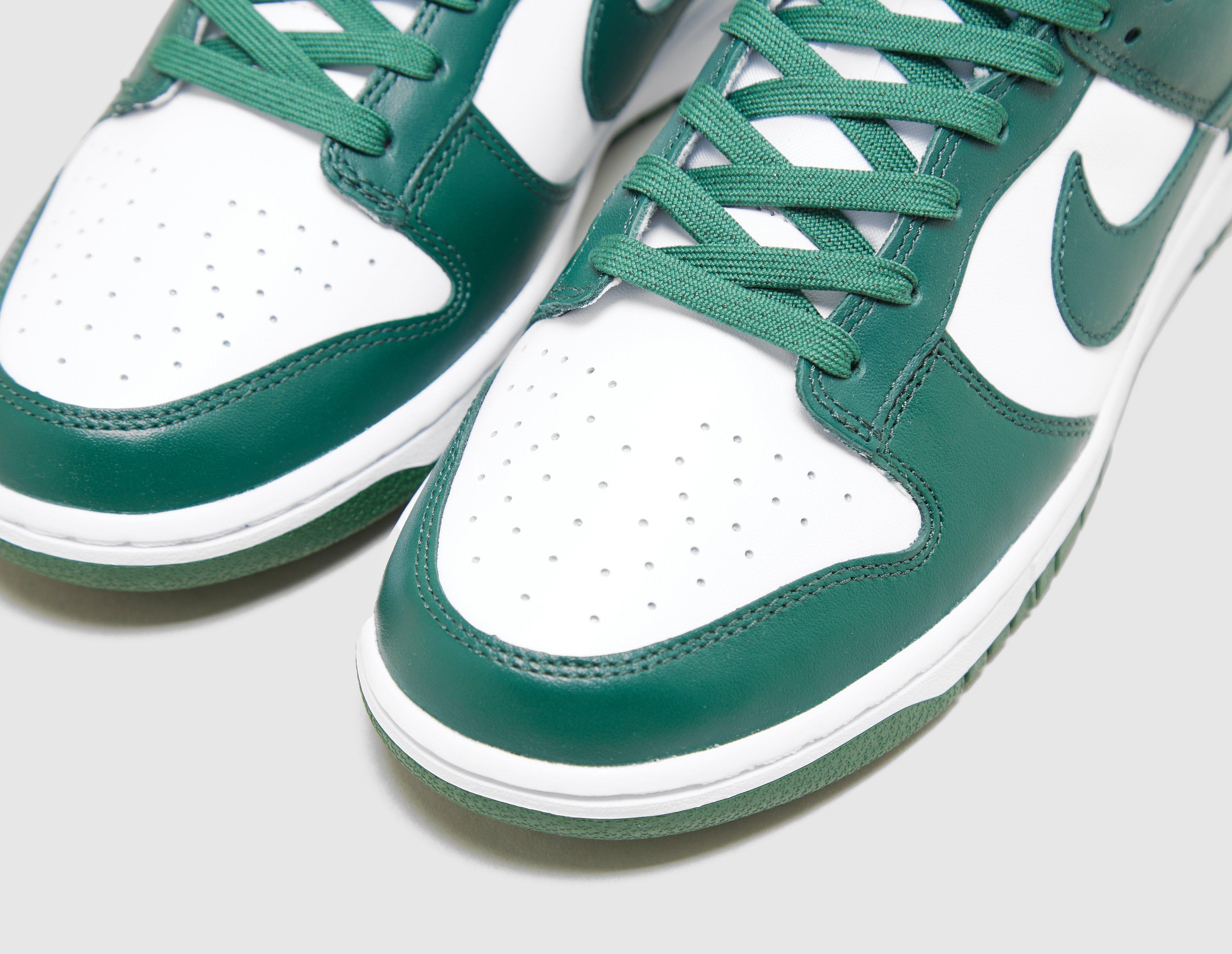 Nike Dunk Low 'Michigan State' 2021 Toebox DD1391-101