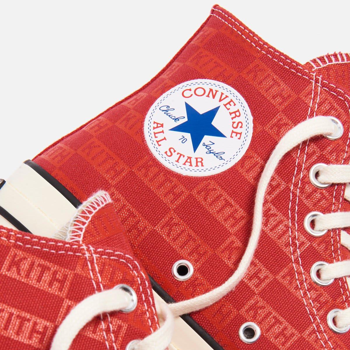 Kith x Converse Chuck 70 'Red' (Detail)