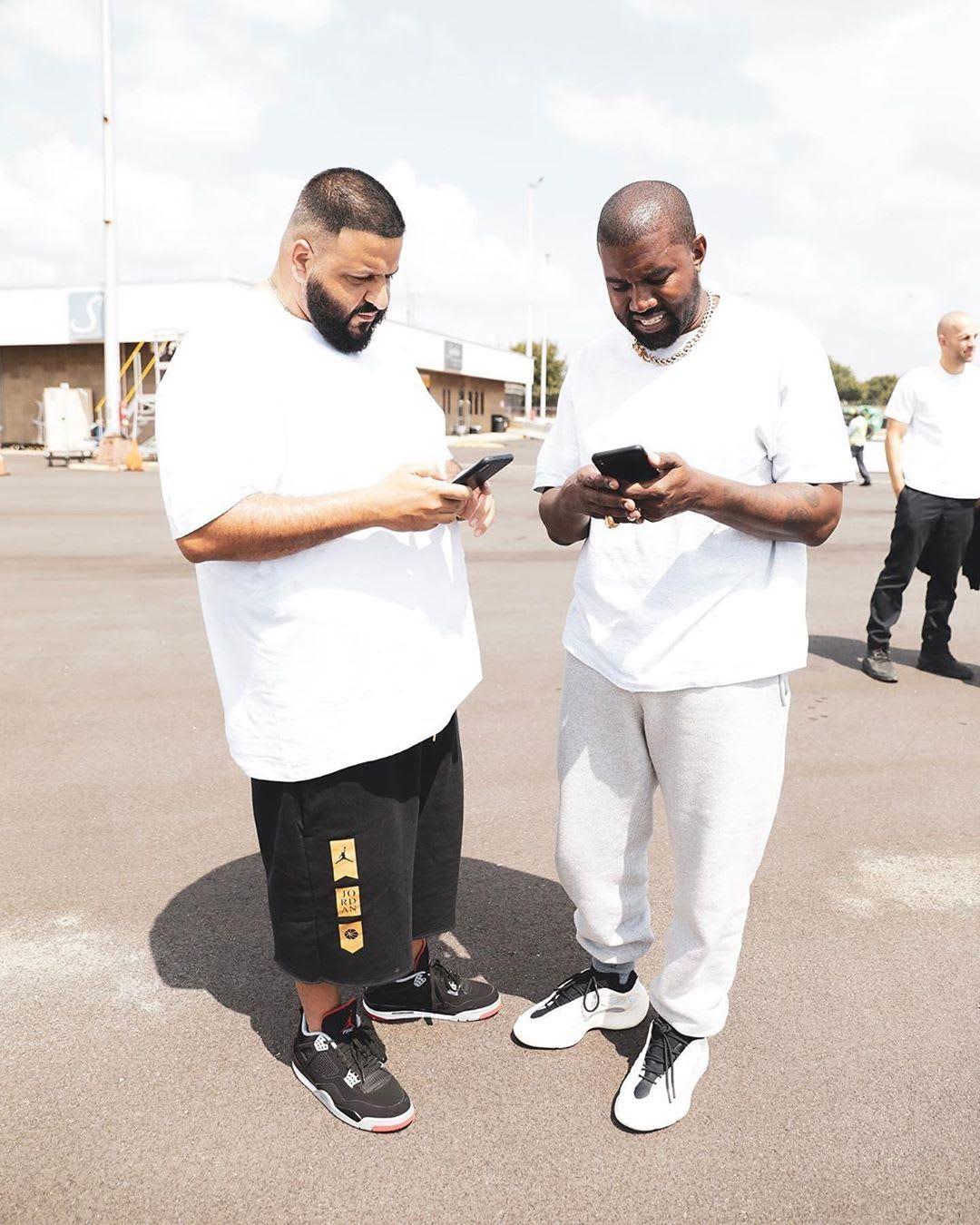 Kanye West Gifts DJ Khaled Unreleased Yeezy 700 V3 Eneste    Kanye West Gaver DJ Khaled Uudgivet Yeezy 700 V3   title=          Sole