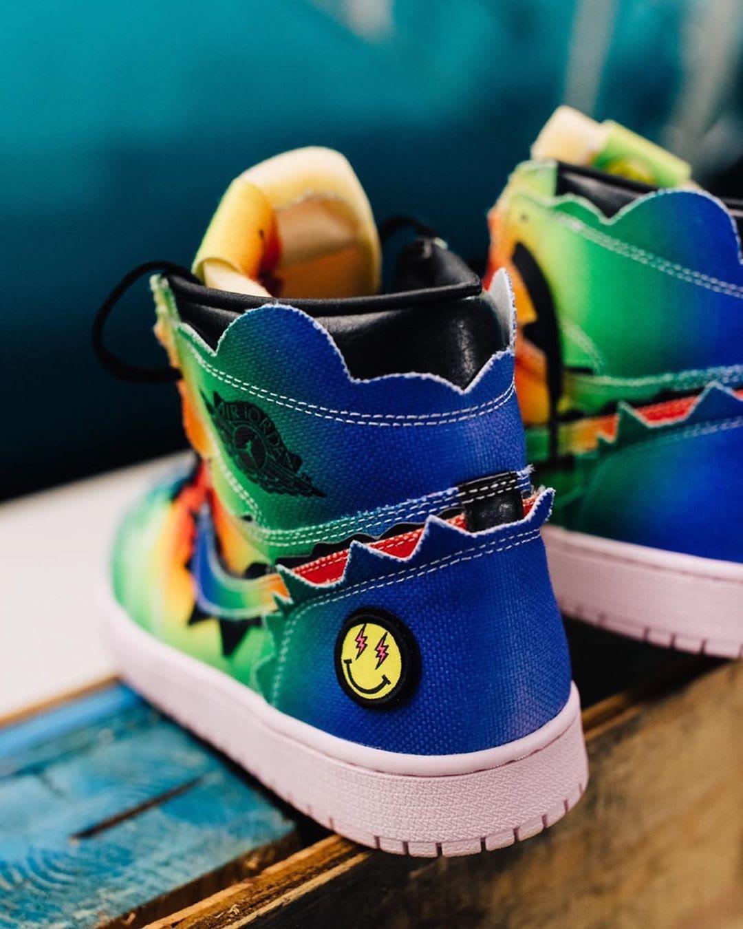 J Balvin Air Jordan 1 Heel