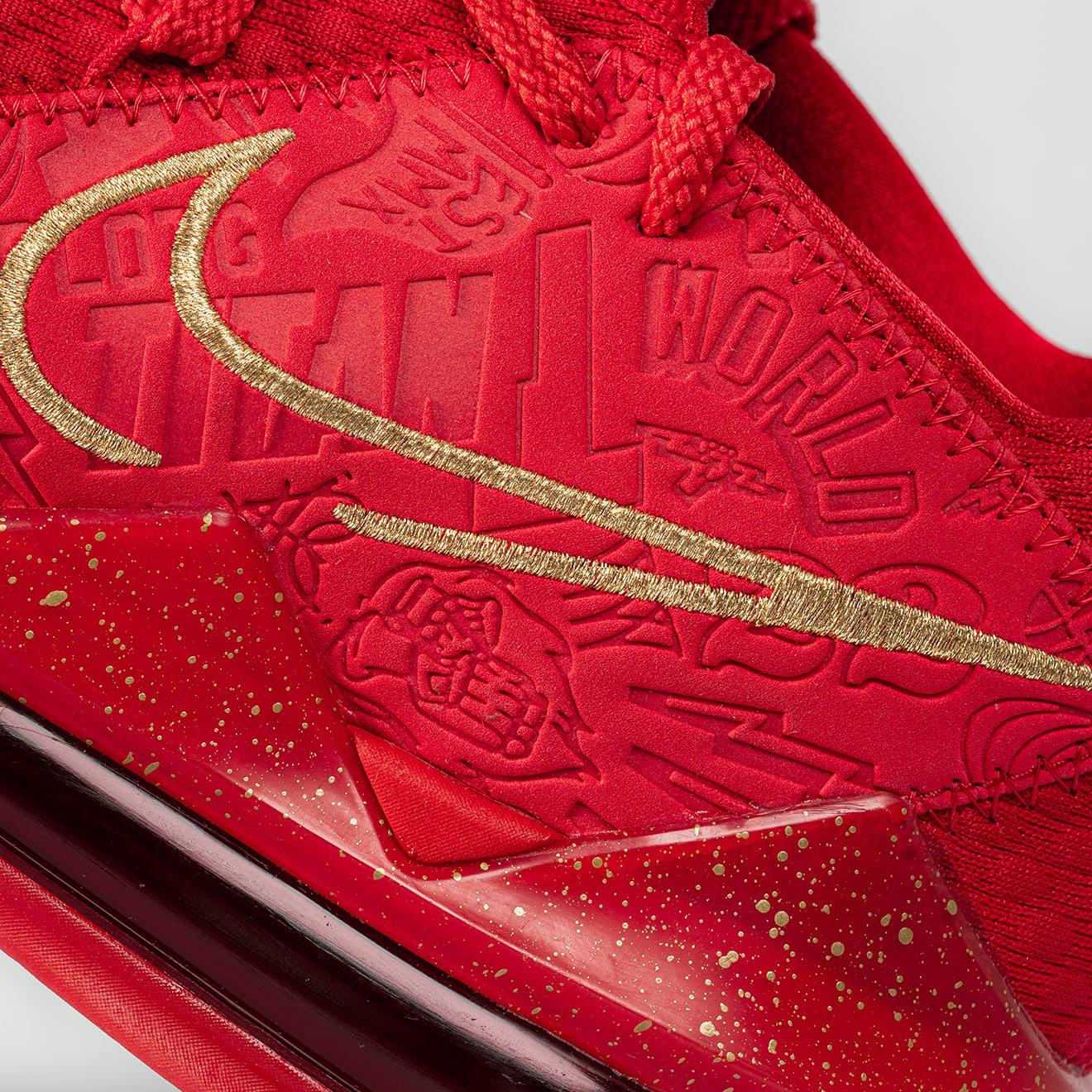 Titan x Nike LeBron 17 Low CD5008-600 (Detail)