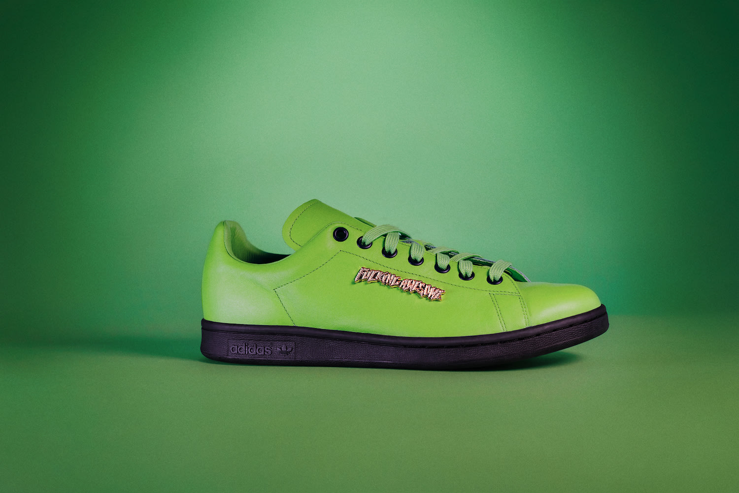 Fucking Awesome x Adidas Stan Smith (Green Lateral)