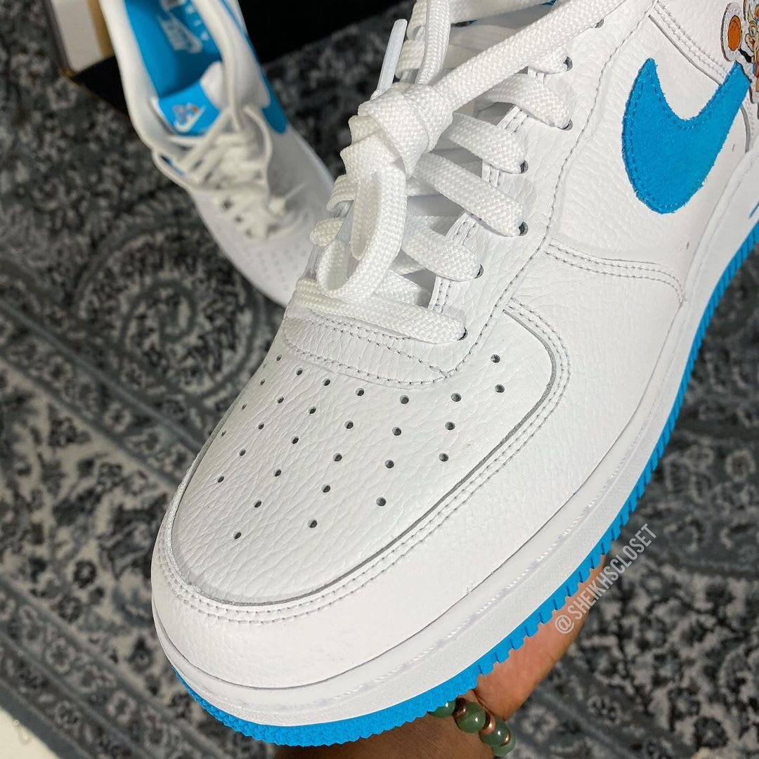 Nike Air Force 1 Low 'Space Jam' Toe