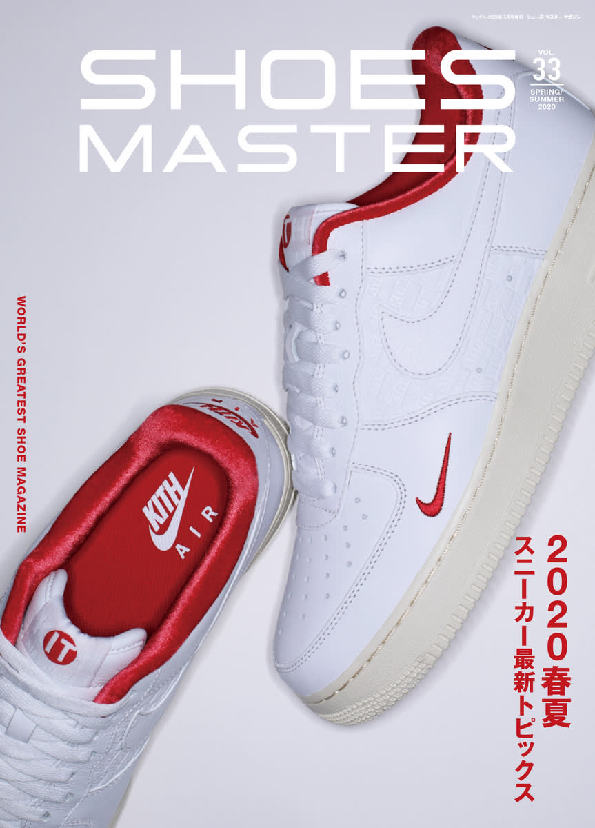 KITH x Nike Air Force 1 Low White Red Shoes Master