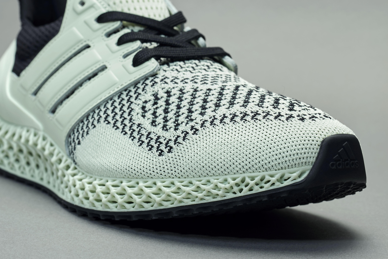 Sneakersnstuff x Adidas Ultra 4D 'Green Teatime' Front