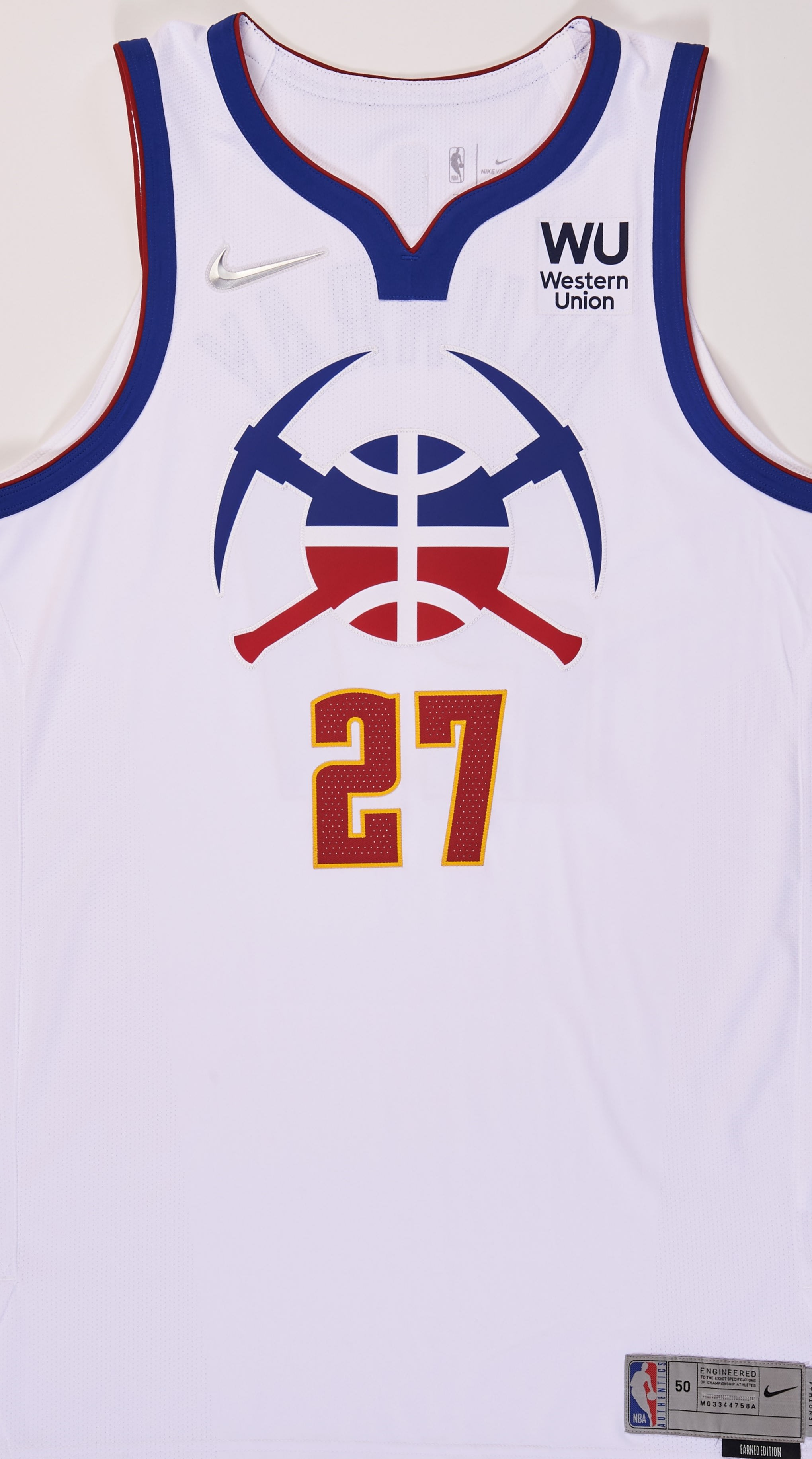 Denver Nuggets 2020-21 Earned Jersey