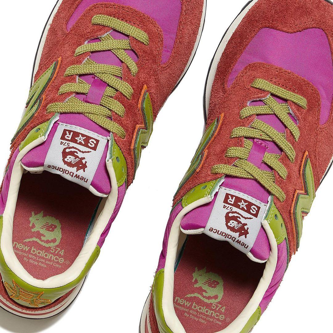 Stray Rats x New Balance 574 Pink (Top)