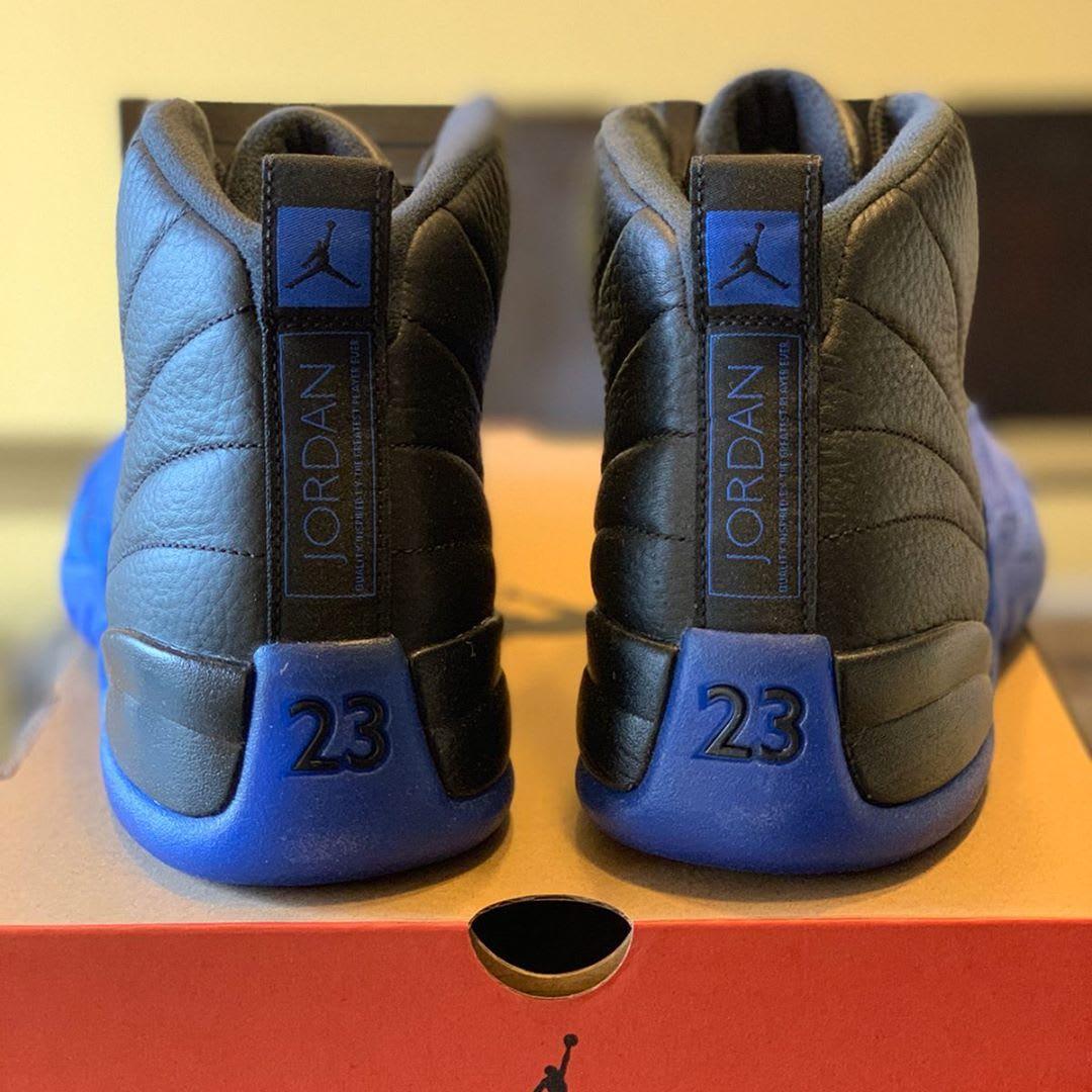 Air Jordan 12 'Game Royal' 130690-014 (Heel)