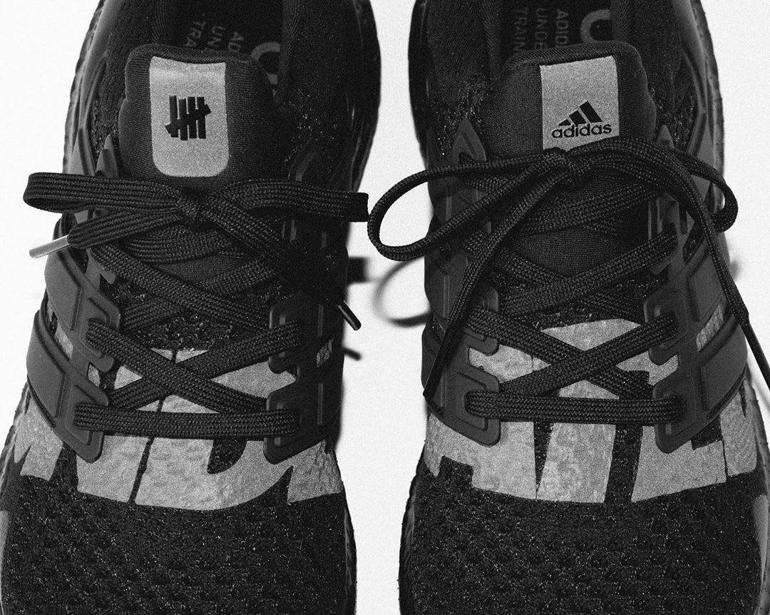 UNDFTD x Adidas Ultra Boost 'Blackout' (Top)