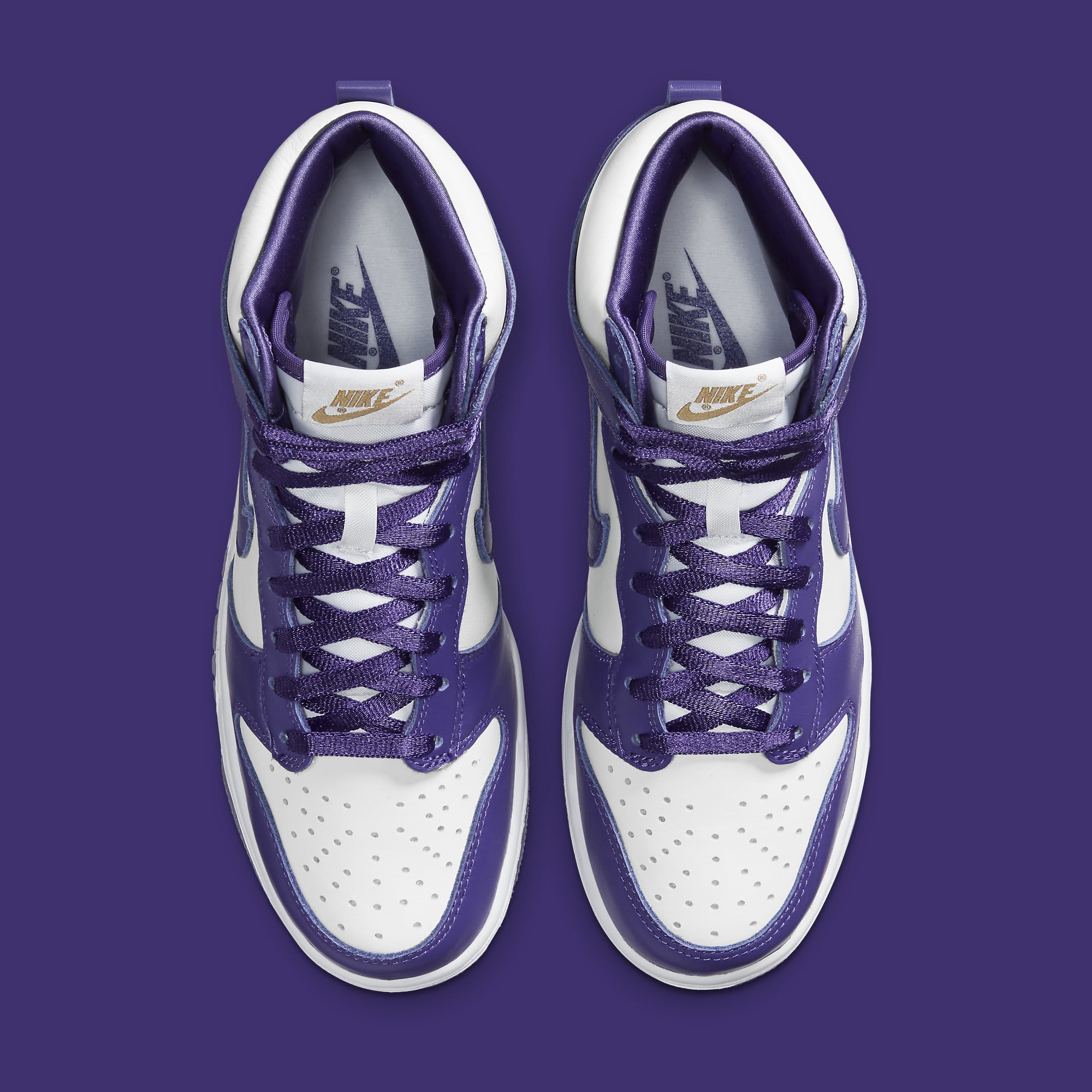 Nike Dunk High Women's Varsity Purple Release Date DC5382-100 Top