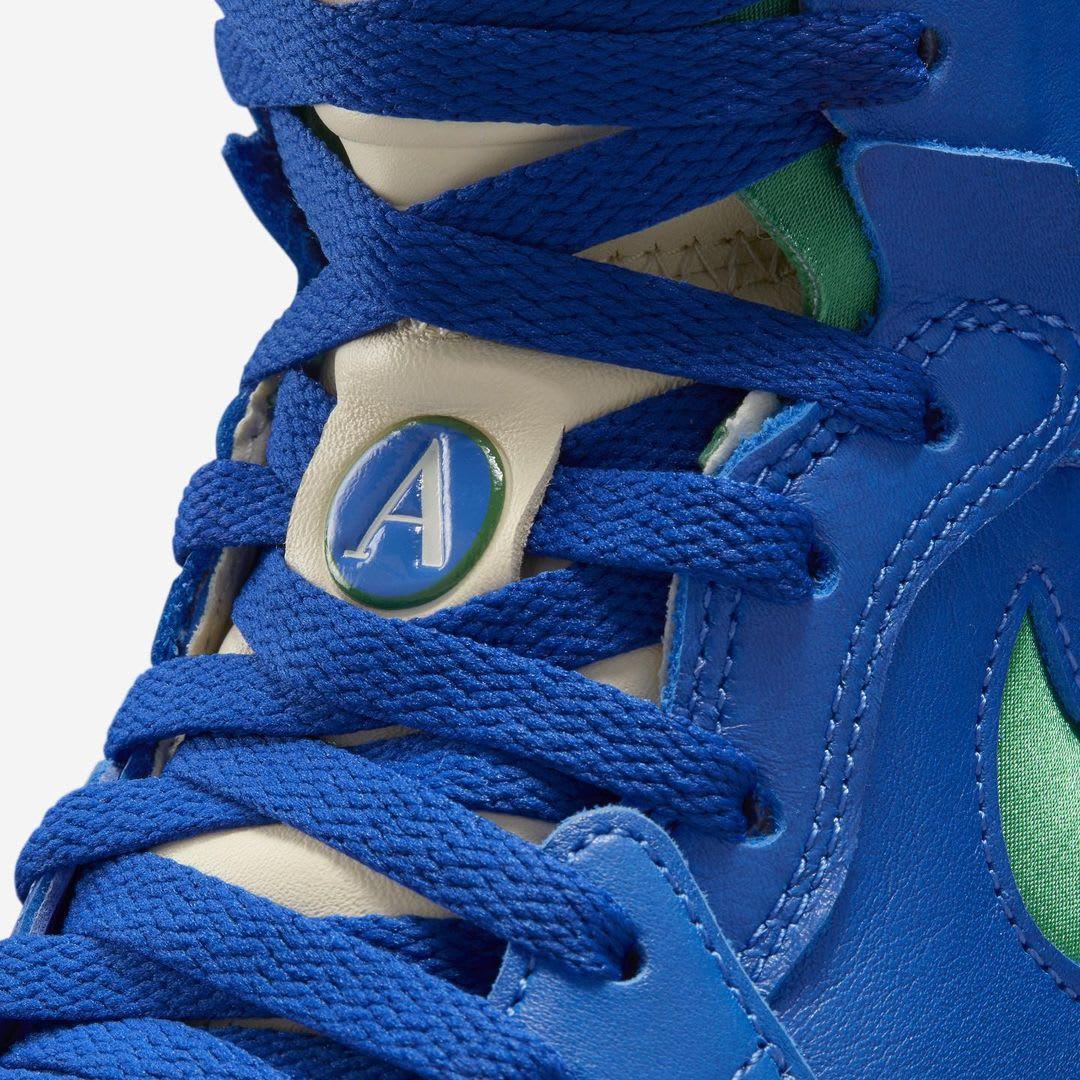 Aleali May x Air Jordan 1 Zoom CMFT Release Date Tongue Detail