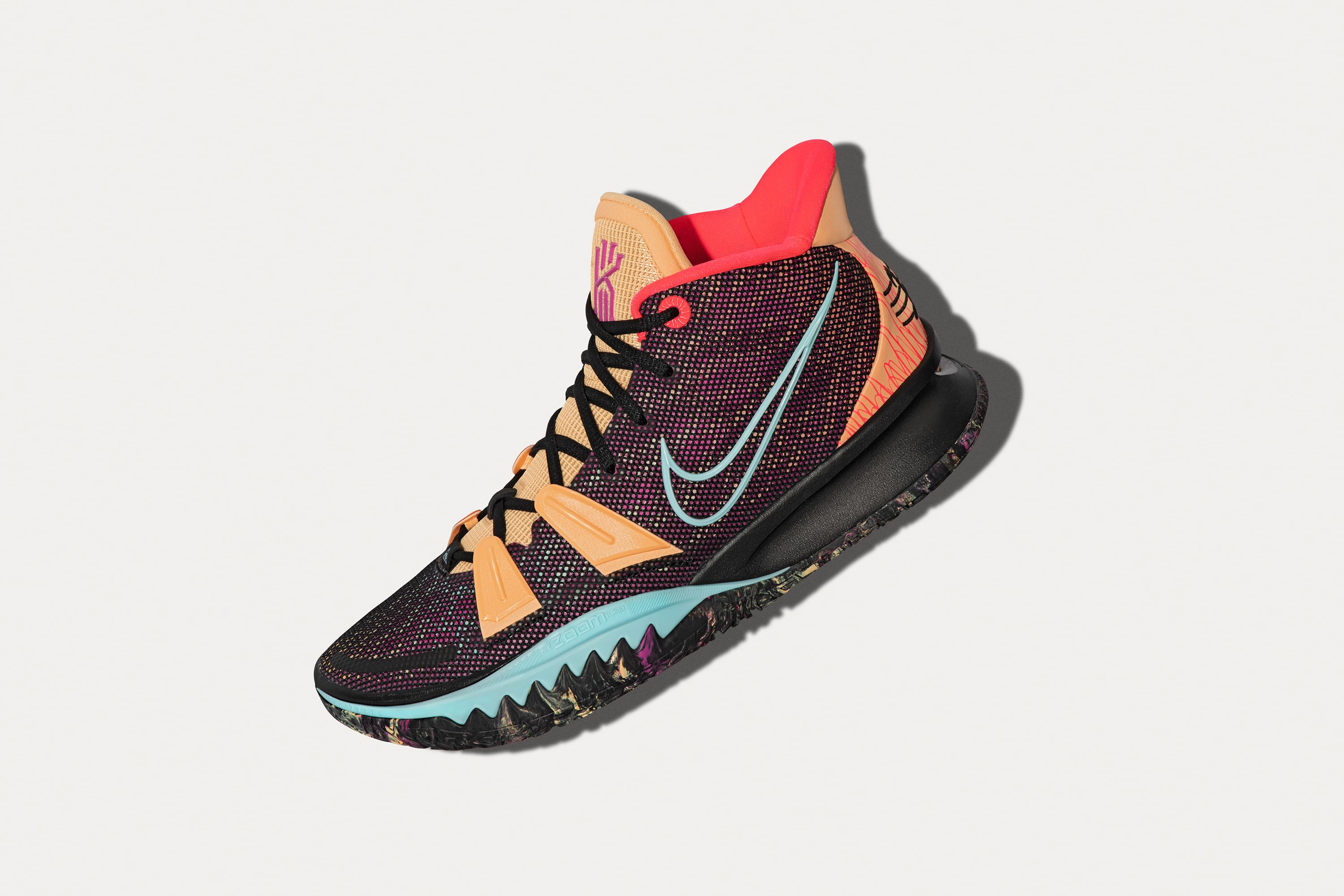 Nike Kyrie 7 Preheat 'Soundwave' Lateral