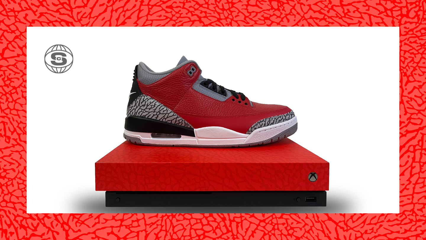 Xbox x Air Jordan 3 'Retro U' (Sneakers)
