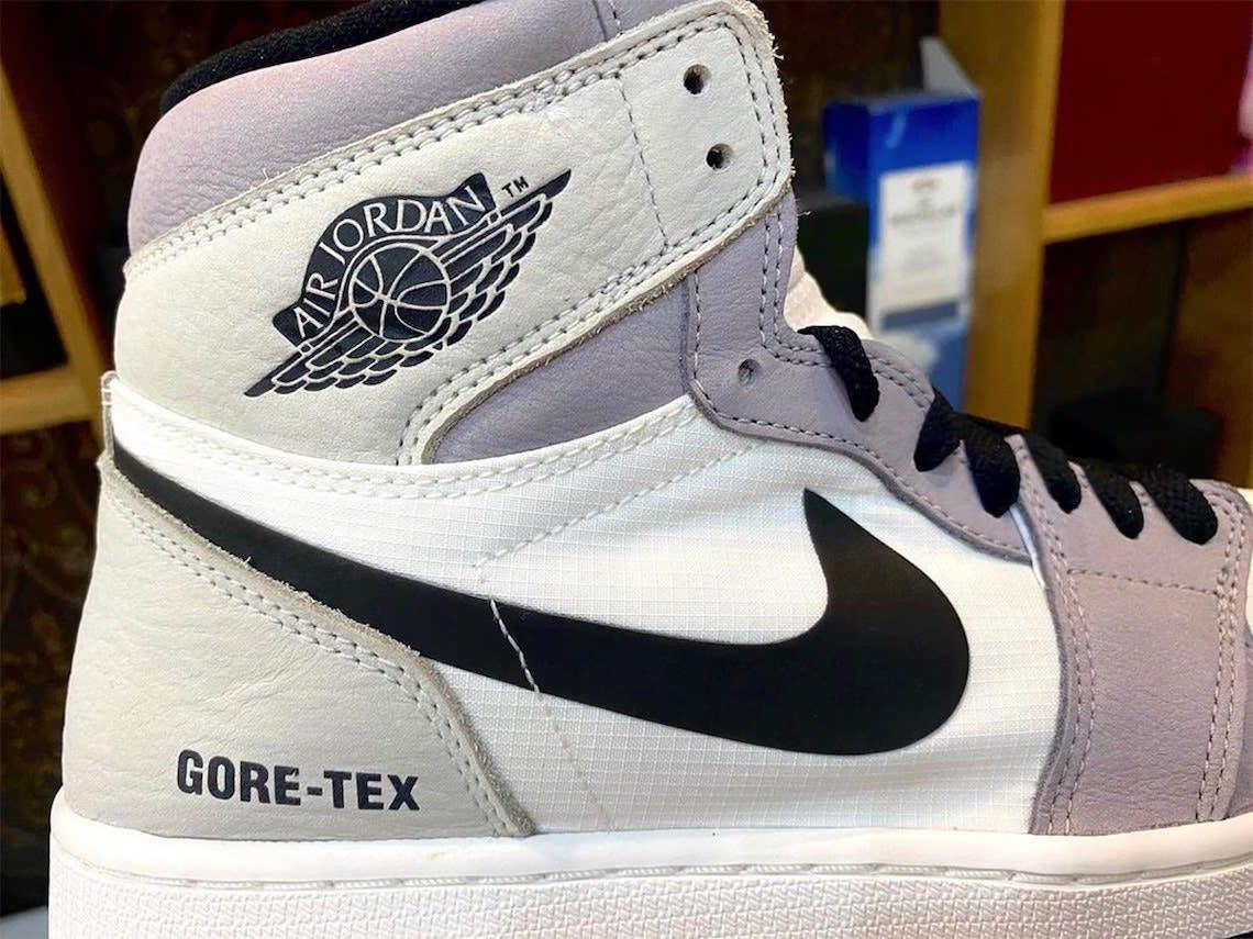 Air Jordan 1 Element Gore-Tex Light Bone Release Date DB2889-100 Collar