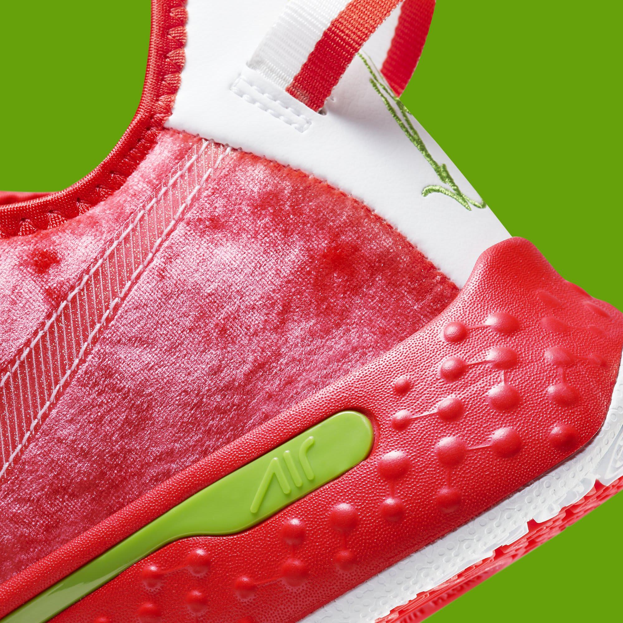 Nike PG 4 Christmas Release Date CD5082-602 Heel Detail
