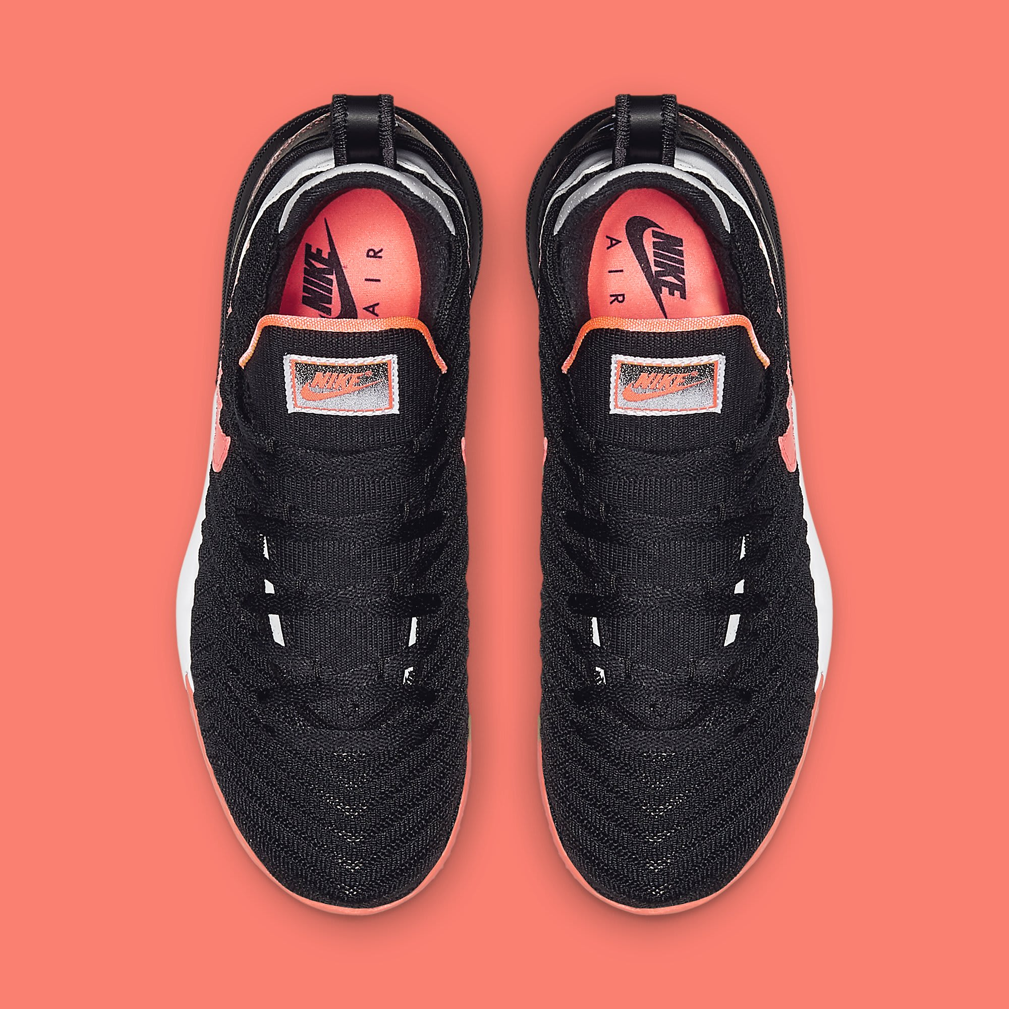 Nike LeBron 16 'Hot Lava' Black CI1521-001 Top