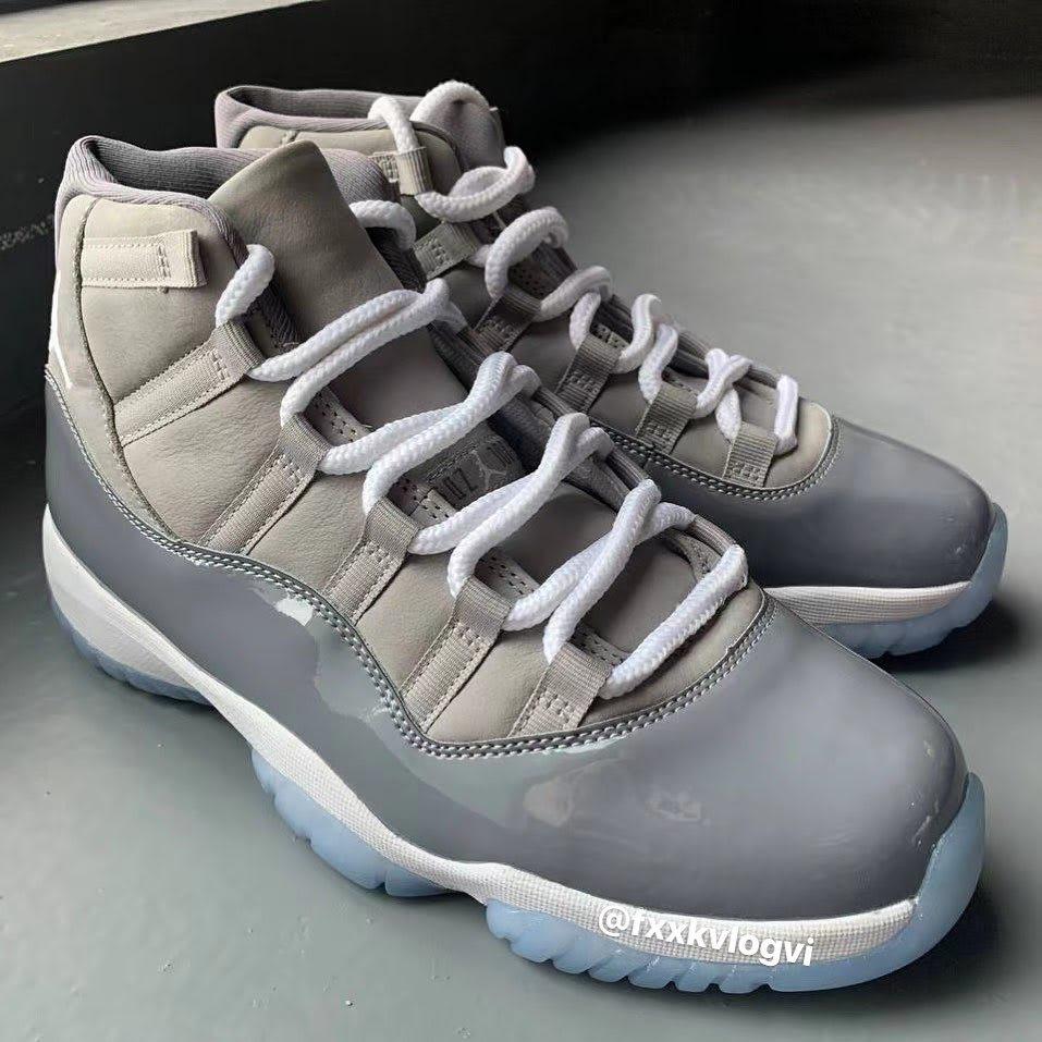 Air Jordan 11 Retro 'Cool Grey' 2021 CT8012-005 Pair