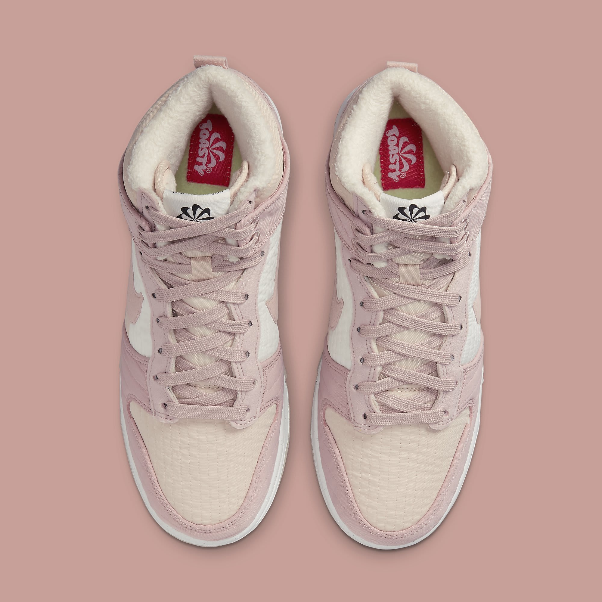 Nike Dunk High Toasty Pink DN9909-200 Release Date Top