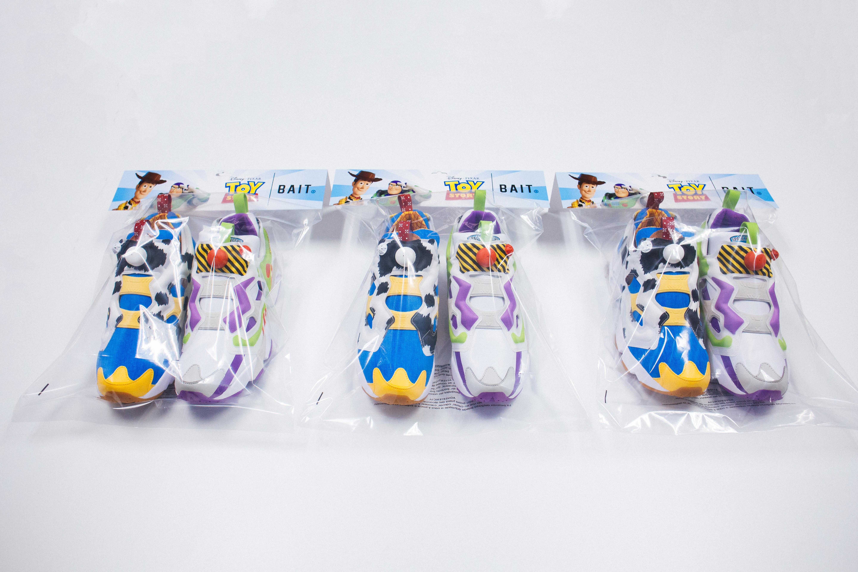 Bait x Disney Toy Story x Reebok Instapump Fury Packaging