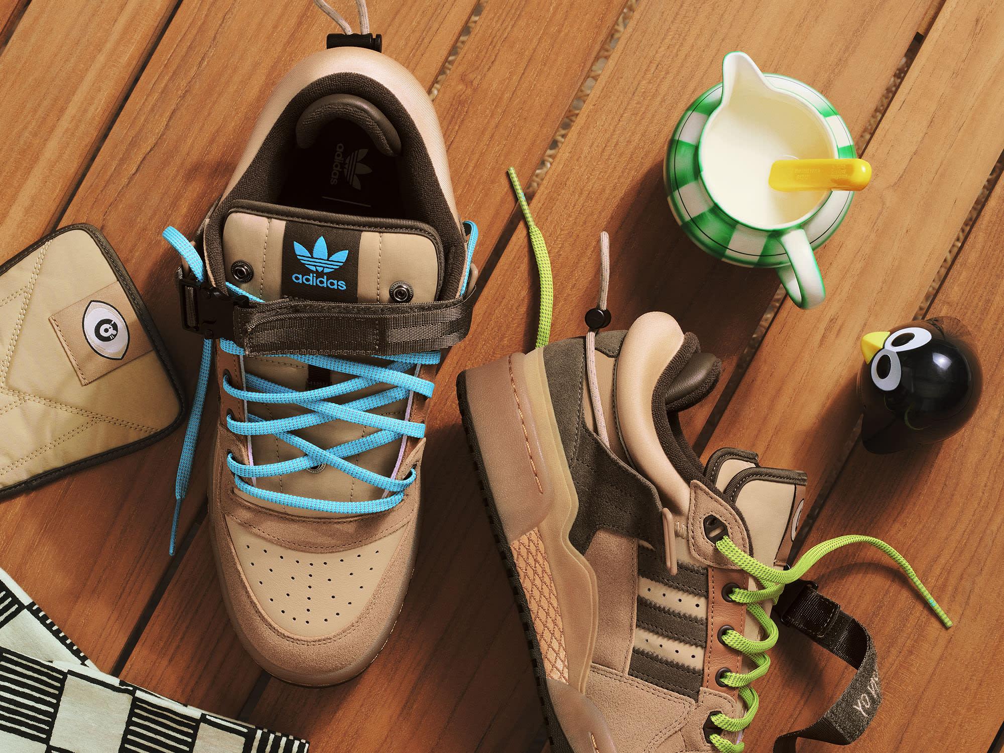 Bad Bunny x Adidas Forum Buckle Low Top