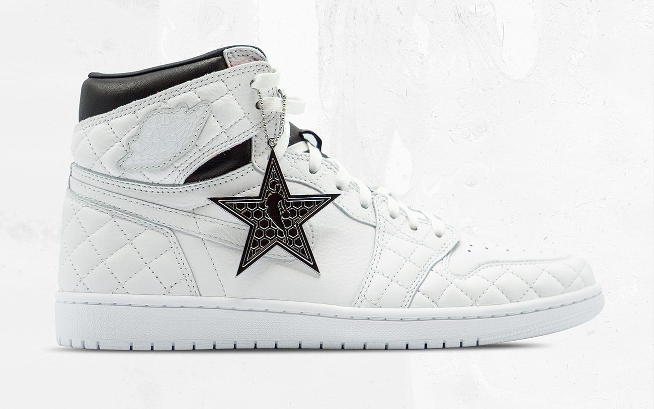Air Jordan 1 Retro High OG 'Charlotte Hornets Foundation Auction' (White) 1