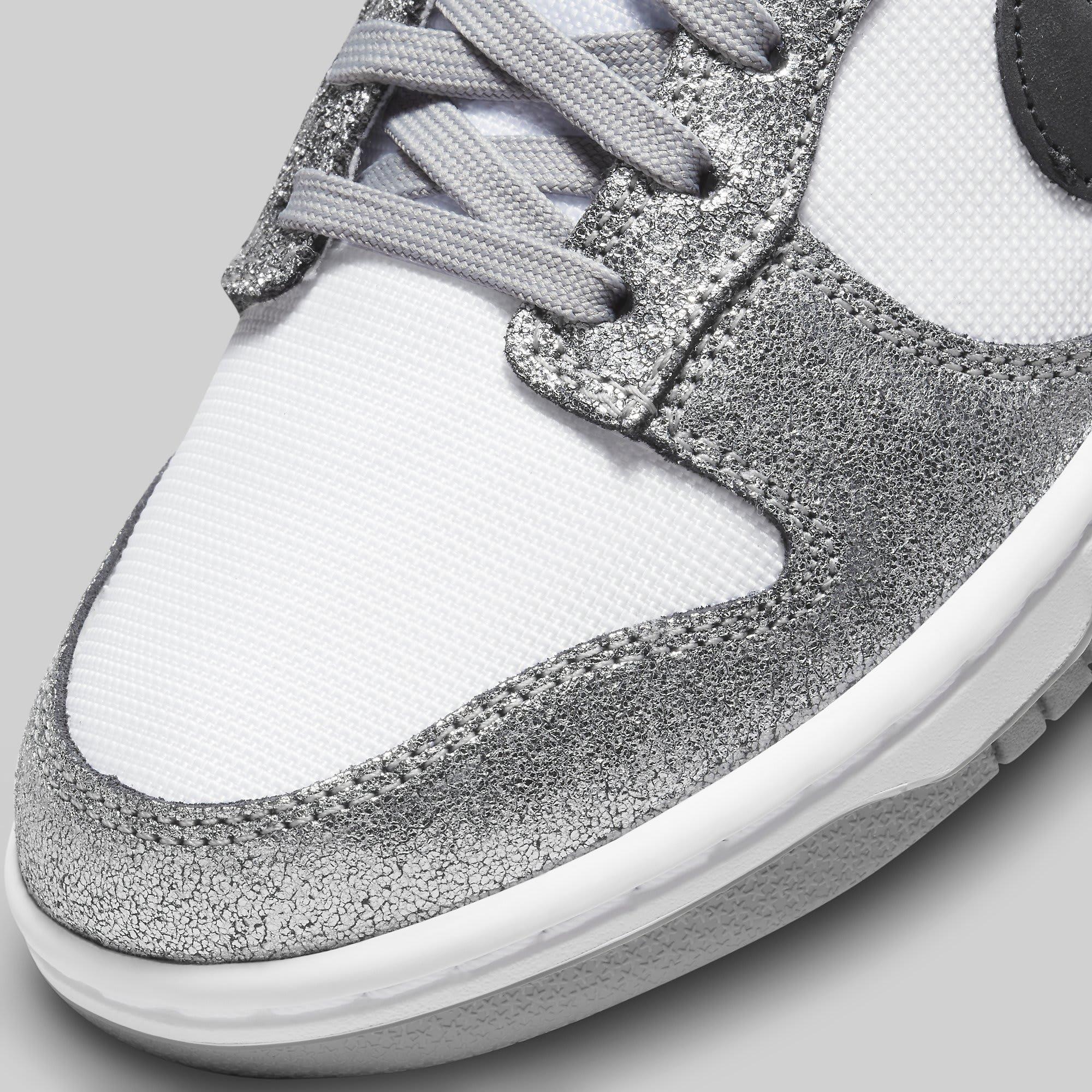 Nike Dunk Low 'Shimmer' DO5882-001 Toe