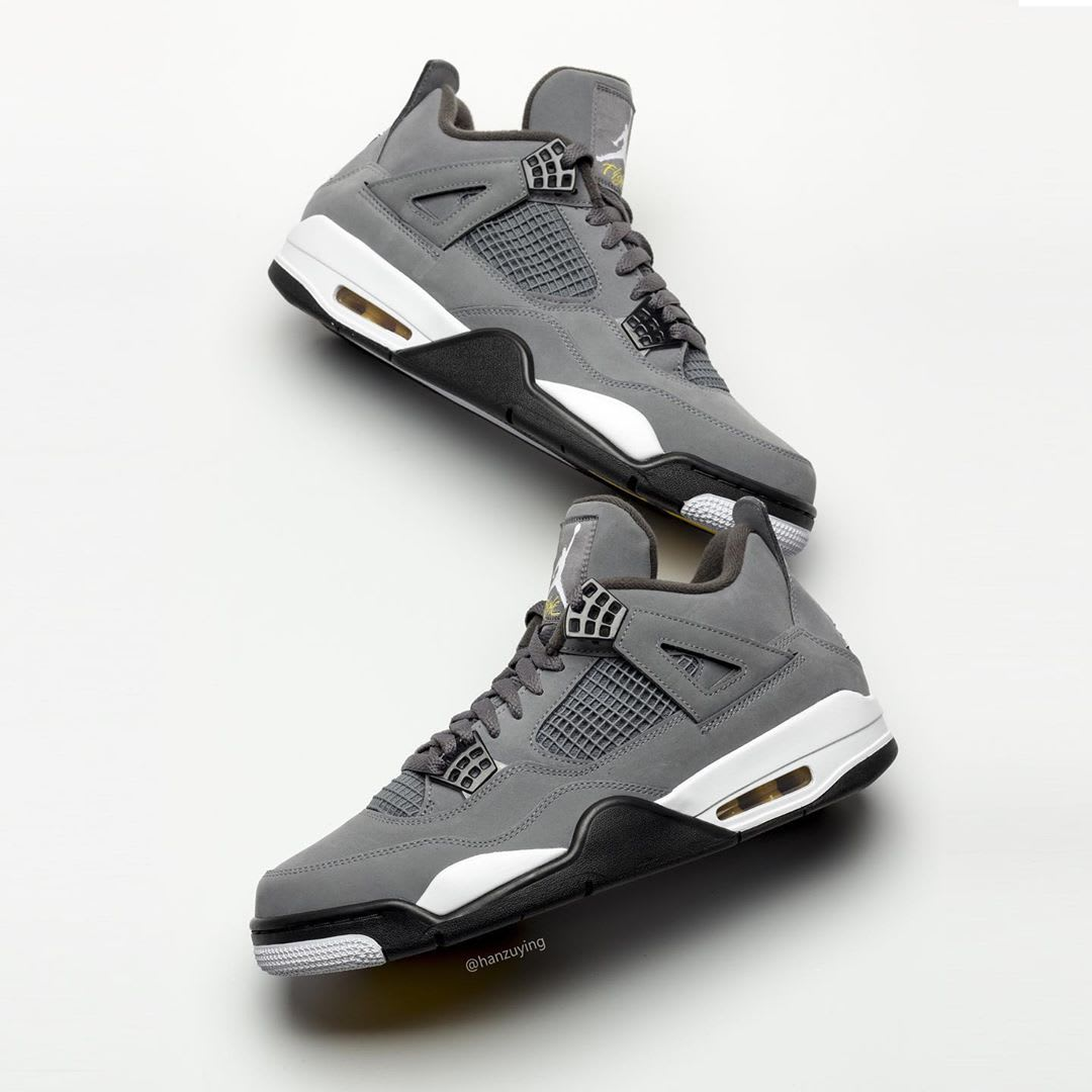 Air Jordan 4 IV Cool Grey 2019 Release Date 308497-007 Top Side