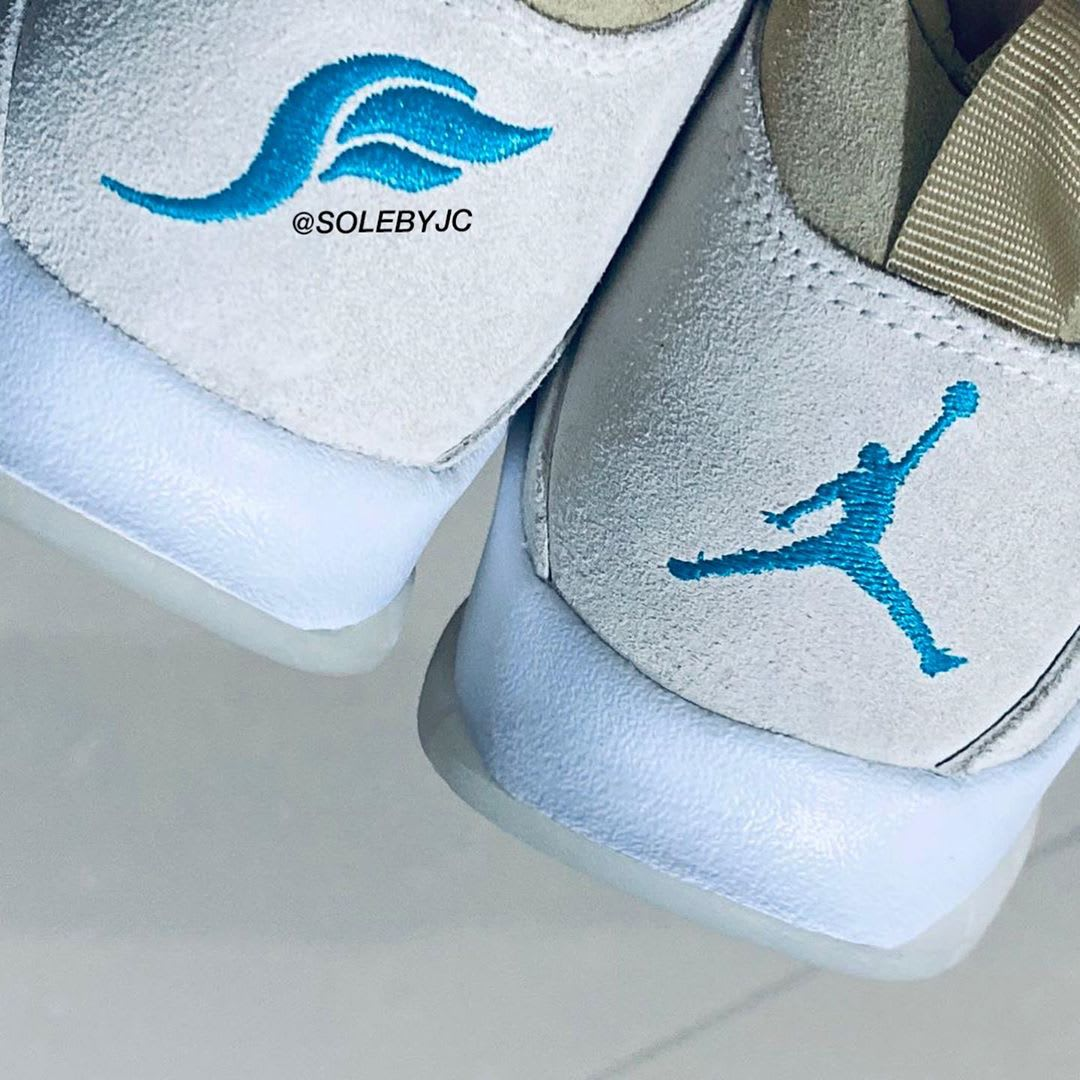 SoleFly x Air Jordan 10 '10 Year Anniversary' Heel