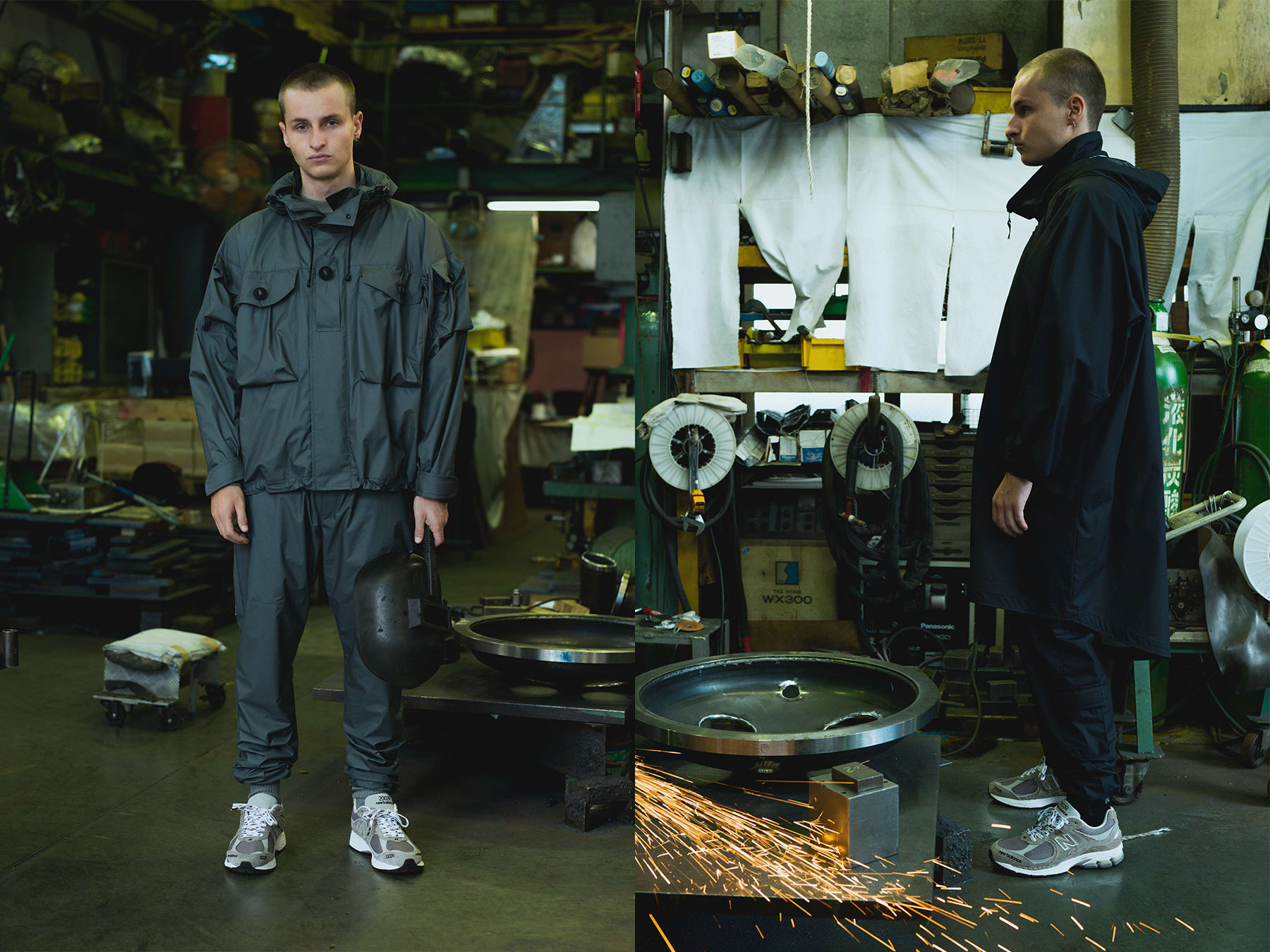 Invincible x N.Hoolywood x New Balance 2002R Collab