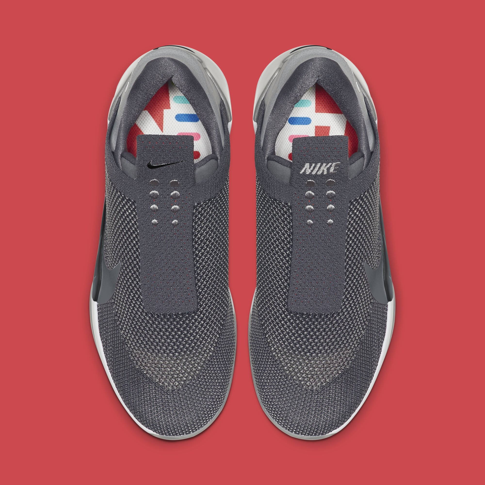 Nike Adapt BB 'Dark Grey' AO2582-004 (Top)