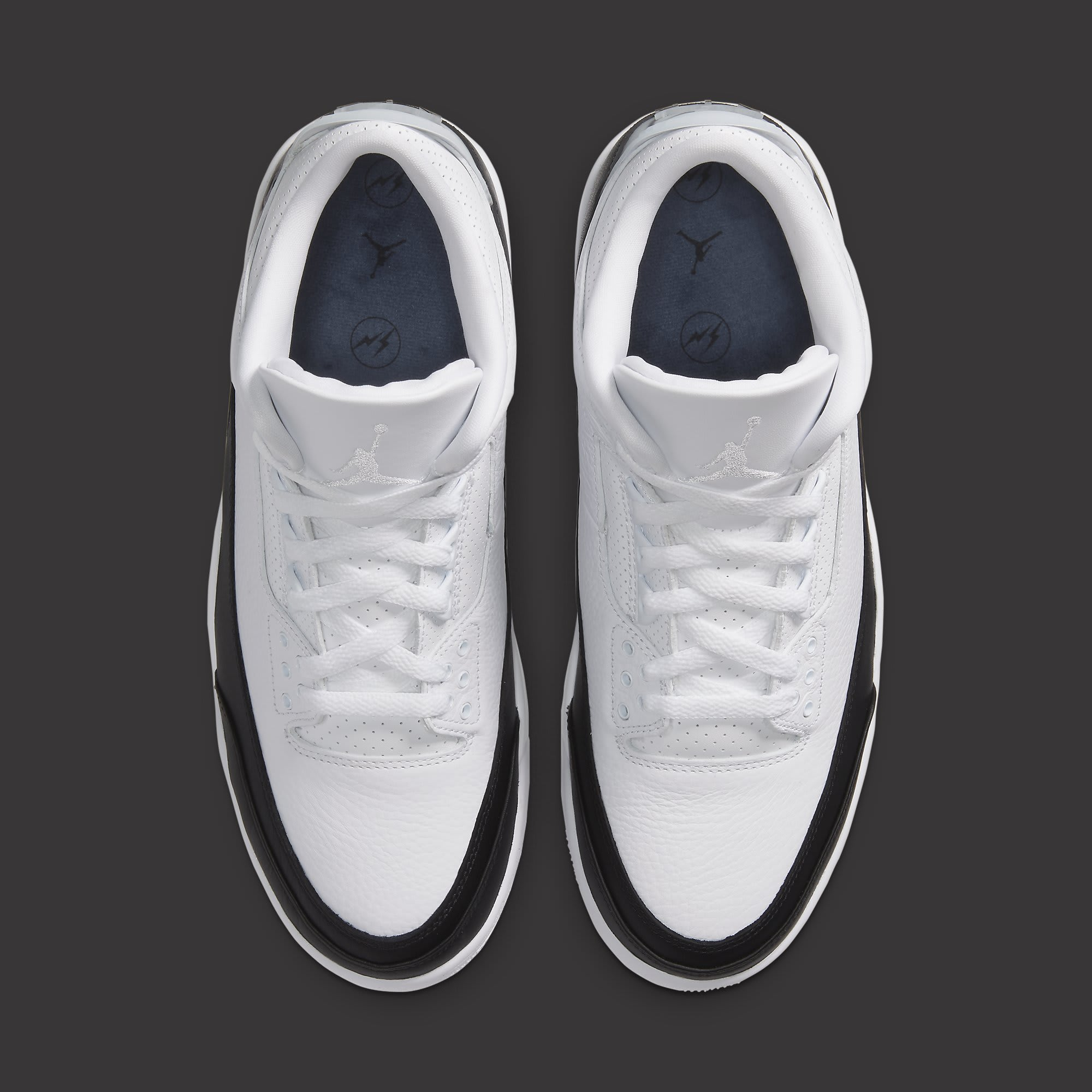 Fragment x Air Jordan 3 Release Date DA3595-100 Top