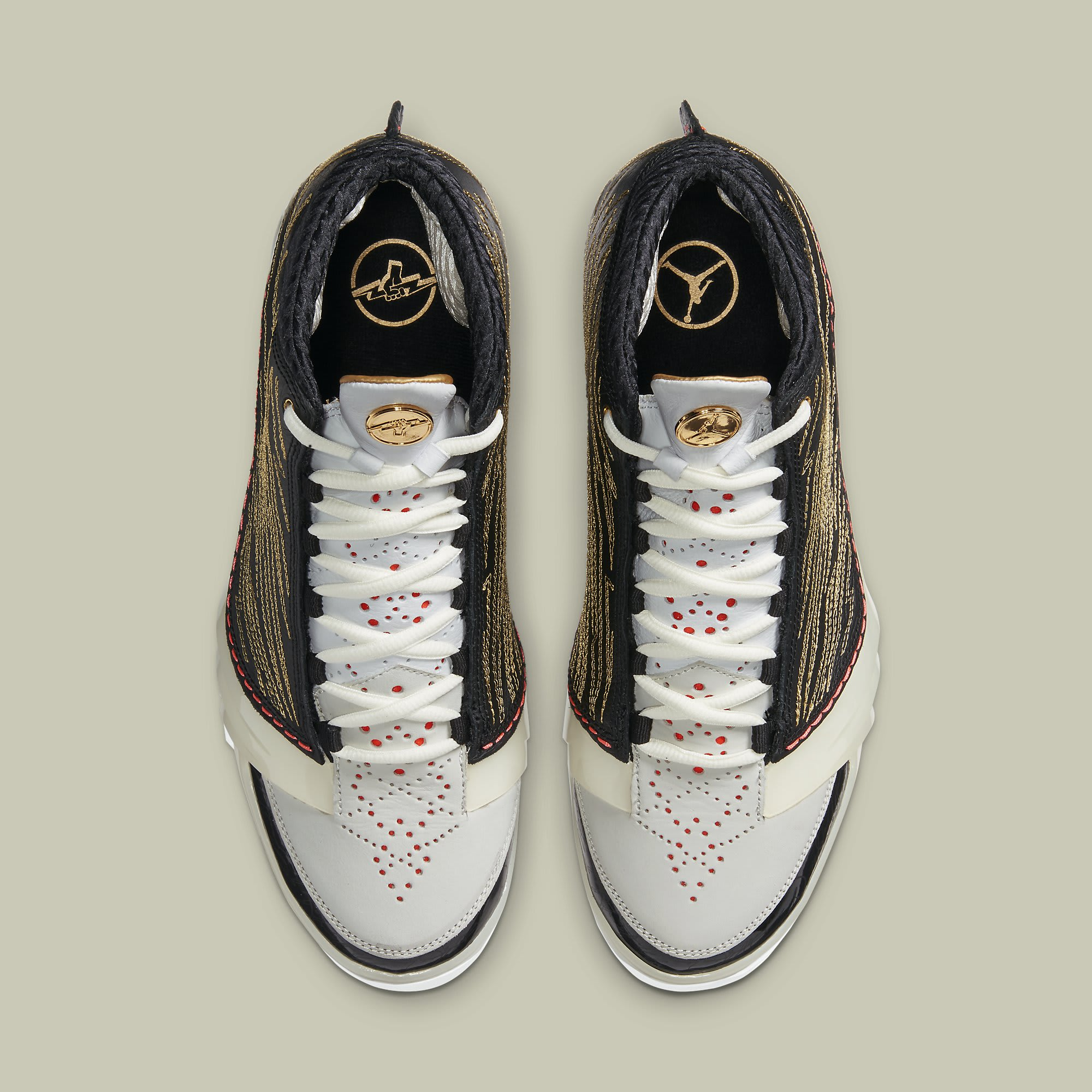 Titan x Air Jordan 23 XX3 Release Date CZ6222-001 Top