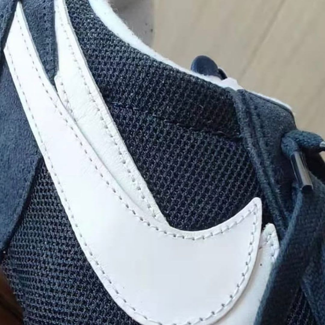 Fragment x Sacai x Nike LDWaffle DH2684-400 Side