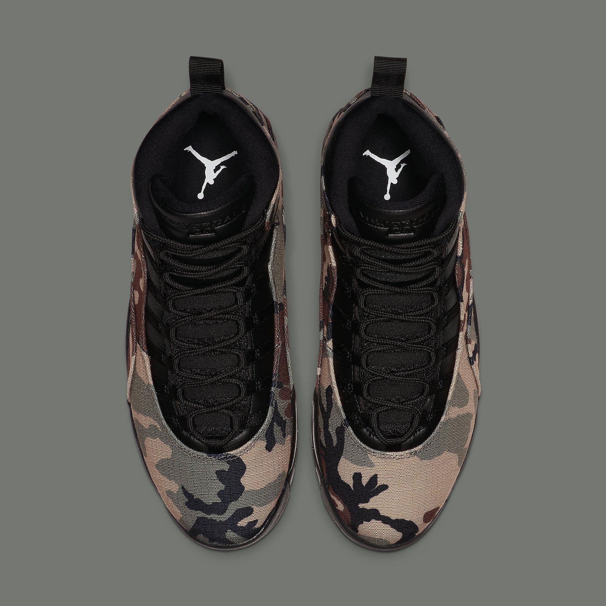 Air Jordan 10 Camo Release Date 310805-201 Top
